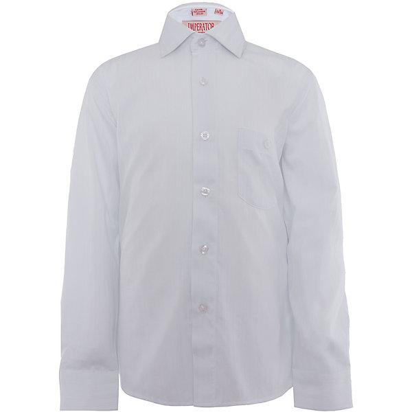 Рубашка для мальчика ImperatorБлузки и рубашки<br>Классическая рубашка - неотьемлемая вещь в гардеробе. Модель на пуговицах, с отложным воротником. Свободный покрой не стеснит движений и позволит чувствовать себя комфортно каждый день.  Состав 65 % хл. 35% П/Э<br><br>Ширина мм: 174<br>Глубина мм: 10<br>Высота мм: 169<br>Вес г: 157<br>Цвет: белый<br>Возраст от месяцев: 156<br>Возраст до месяцев: 168<br>Пол: Мужской<br>Возраст: Детский<br>Размер: 158/164,134/140,128/134,122/128,164/170,152/158,146/152,140/146<br>SKU: 4749403