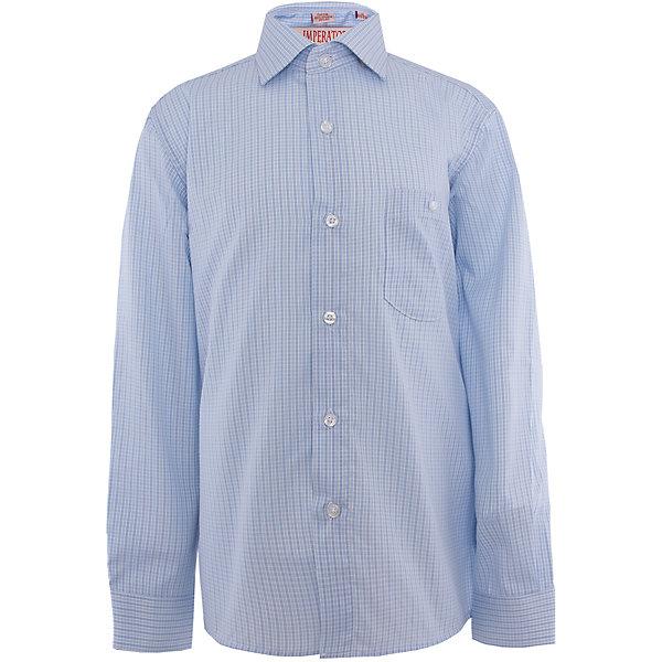 Рубашка для мальчика ImperatorБлузки и рубашки<br>Классическая рубашка - неотьемлемая вещь в гардеробе. Модель на пуговицах, с отложным воротником. Свободный покрой не стеснит движений и позволит чувствовать себя комфортно каждый день.  Состав 65 % хл. 35% П/Э<br><br>Ширина мм: 174<br>Глубина мм: 10<br>Высота мм: 169<br>Вес г: 157<br>Цвет: голубой<br>Возраст от месяцев: 132<br>Возраст до месяцев: 144<br>Пол: Мужской<br>Возраст: Детский<br>Размер: 146/152,140/146,134/140,128/134,122/128,164/170,158/164,152/158,152/158,146/152<br>SKU: 4749447