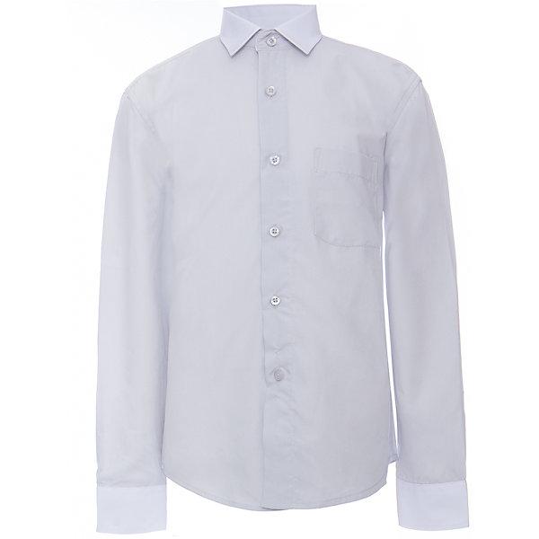 Рубашка для мальчика ImperatorБлузки и рубашки<br>Классическая рубашка - неотьемлемая вещь в гардеробе. Модель на пуговицах, с отложным воротником. Свободный покрой не стеснит движений и позволит чувствовать себя комфортно каждый день.  Состав 55 % хл. 45% П/Э<br><br>Ширина мм: 174<br>Глубина мм: 10<br>Высота мм: 169<br>Вес г: 157<br>Цвет: серый<br>Возраст от месяцев: 84<br>Возраст до месяцев: 96<br>Пол: Мужской<br>Возраст: Детский<br>Размер: 140/146,134/140,128/134,122/128,164/170,158/164,152/158,152/158,146/152,146/152<br>SKU: 4749535