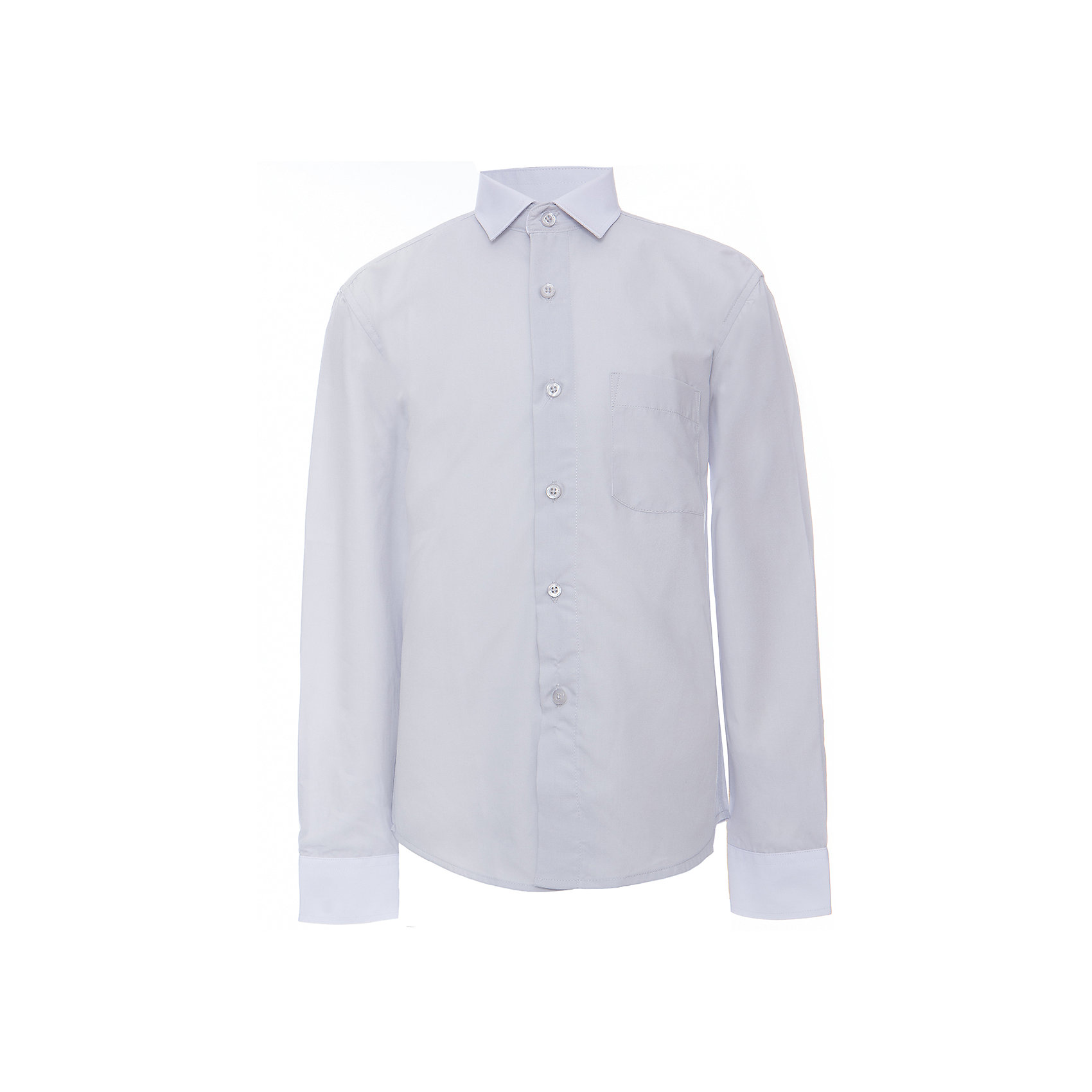 Рубашка для мальчика ImperatorБлузки и рубашки<br>Классическая рубашка - неотьемлемая вещь в гардеробе. Модель на пуговицах, с отложным воротником. Свободный покрой не стеснит движений и позволит чувствовать себя комфортно каждый день.  Состав 55 % хл. 45% П/Э<br><br>Ширина мм: 174<br>Глубина мм: 10<br>Высота мм: 169<br>Вес г: 157<br>Цвет: серый<br>Возраст от месяцев: 168<br>Возраст до месяцев: 180<br>Пол: Мужской<br>Возраст: Детский<br>Размер: 164/170,122/128,128/134,134/140,140/146,146/152,146/152,152/158,152/158,158/164<br>SKU: 4749535