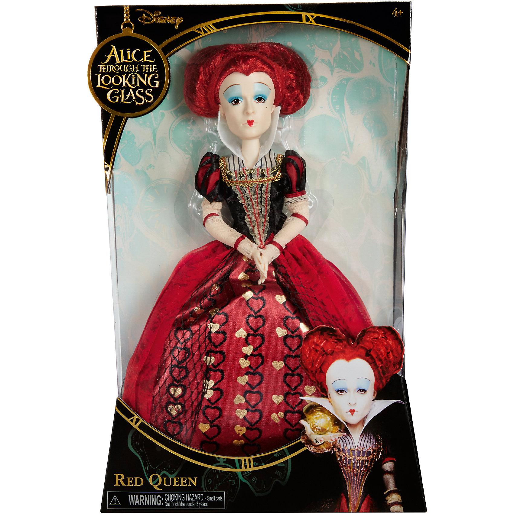 Коллекционная  кукла Красная  Королева, Алиса в ЗазеркальеИгрушки<br>Коллекционная  кукла Красная  Королева – эта кукла, имеющая огромное сходство с героиней фильма станет украшением коллекции.<br>Коллекционная кукла в образе Красной королевы, одной из главных злодеек фильма «Алиса в Зазеркалье» очень похожа на актрису Хелену Бонэм Картер, которая сыграла эту роль в киноленте. Кукла выполнена с максимальной детализацией наряда, внешности и прически актрисы. Она одета в классическое платье «красные сердца», прическа у куклы также в виде сердца. И, конечно же, культовый макияж Красной королевы! Голова, руки и ноги у куклы вращаются. Руки сгибаются в районе локтей, благодаря встроенным шарнирам.<br><br>Дополнительная информация:<br><br>- Высота: 29 см.<br>- Материал: пластик, текстиль<br><br>Коллекционную  куклу Красная  Королева можно купить в нашем интернет-магазине.<br><br>Ширина мм: 23<br>Глубина мм: 80<br>Высота мм: 360<br>Вес г: 570<br>Возраст от месяцев: 36<br>Возраст до месяцев: 1188<br>Пол: Женский<br>Возраст: Детский<br>SKU: 4751313