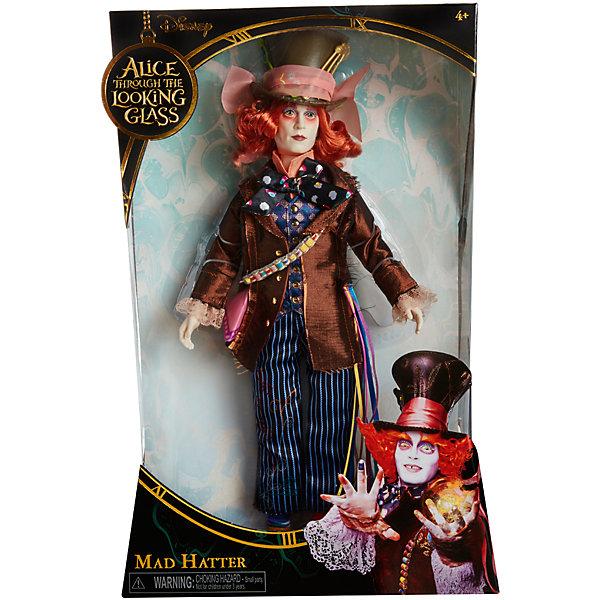 Коллекционная кукла Сумашедший Шляпник, Алиса в ЗазеркальеИгрушки<br>Коллекционная кукла Сумашедший Шляпник – эта кукла, имеющая огромное сходство с героем фильма станет украшением коллекции.<br>Коллекционная кукла в образе Сумасшедшего Шляпника, героя фильма «Алиса в Зазеркалье» очень похожа на актера Джонни Деппа, который сыграл эту роль в киноленте. Кукла одета в полосатые штаны, цветастую рубашку, коричневый пиджак и, конечно же, большую шляпу! У куклы бледное лицо и копна ярко рыжих волос. Безумный мастер и величайший гений своего дела отлично дополнит вашу коллекцию персонажей произведения Алиса в стране чудес.<br><br>Дополнительная информация:<br><br>- Высота: 29 см.<br>- Материал: пластик, текстиль<br><br>Коллекционную куклу Сумашедший Шляпник можно купить в нашем интернет-магазине.<br><br>Ширина мм: 23<br>Глубина мм: 80<br>Высота мм: 360<br>Вес г: 570<br>Возраст от месяцев: 36<br>Возраст до месяцев: 1188<br>Пол: Женский<br>Возраст: Детский<br>SKU: 4751315