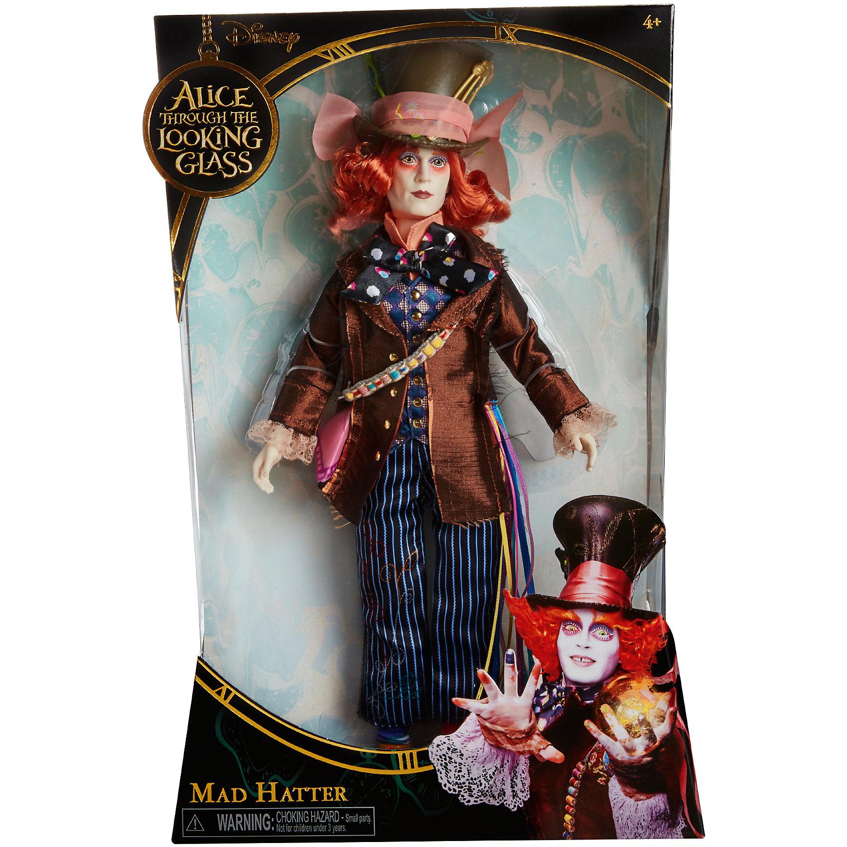 Коллекционная кукла Сумашедший Шляпник, Алиса в ЗазеркальеКоллекционная кукла Сумашедший Шляпник – эта кукла, имеющая огромное сходство с героем фильма станет украшением коллекции.<br>Коллекционная кукла в образе Сумасшедшего Шляпника, героя фильма «Алиса в Зазеркалье» очень похожа на актера Джонни Деппа, который сыграл эту роль в киноленте. Кукла одета в полосатые штаны, цветастую рубашку, коричневый пиджак и, конечно же, большую шляпу! У куклы бледное лицо и копна ярко рыжих волос. Безумный мастер и величайший гений своего дела отлично дополнит вашу коллекцию персонажей произведения Алиса в стране чудес.<br><br>Дополнительная информация:<br><br>- Высота: 29 см.<br>- Материал: пластик, текстиль<br><br>Коллекционную куклу Сумашедший Шляпник можно купить в нашем интернет-магазине.<br><br>Ширина мм: 23<br>Глубина мм: 80<br>Высота мм: 360<br>Вес г: 570<br>Возраст от месяцев: 36<br>Возраст до месяцев: 1188<br>Пол: Женский<br>Возраст: Детский<br>SKU: 4751315