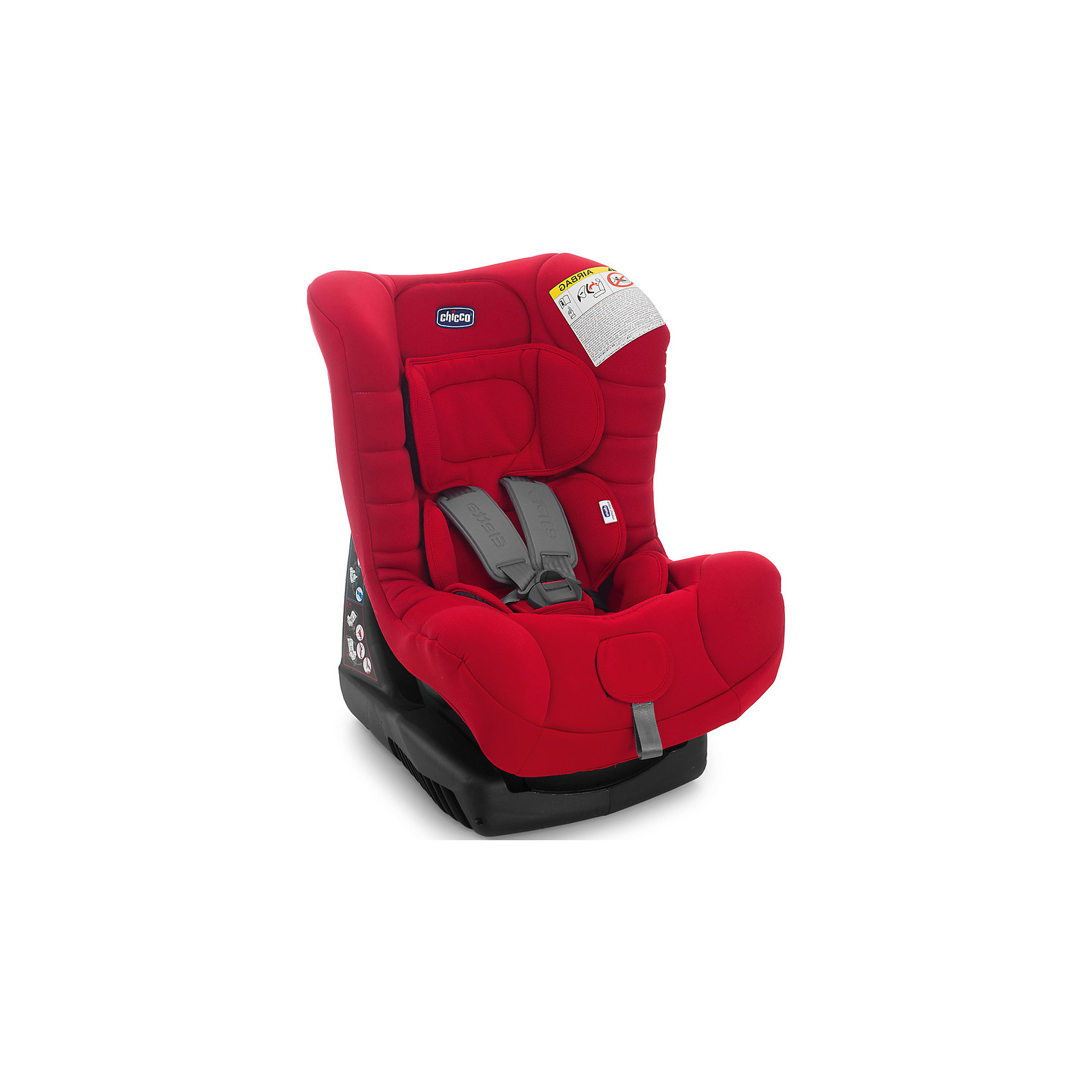 Автокресло Eletta Comfort, 0-18 кг., CHICCO, raceДетское автокресло Chicco Eletta гарантирует высокий уровень комфорта и безопасности ребенка! <br>Для группы 0+, то есть. для детей от 0 до 13 кг. - устанавливается против направления движения, фиксируется с помощью штатных ремней автомобиля. <br>Для группы 1 (от 9 до 18 кг) - по направлению движения и фиксируется с помощью штатных ремней безопасности автомобиля. <br>После снятия редуктора, малыш получит широкое сиденье, где может совершать длительные поездки. Подкладка автомобильного кресла была разработана, чтобы обеспечить максимальный комфорт для вашего ребенка.<br><br>Особенности: <br>- Сиденье регулируется в 4-х положениях;<br>- Пятиточечные ремни безопасности;<br>- Широкое сиденье в 4-х положениях (от лежачего до сидячего);<br>- Сторона защиты и плечевые ремни проложенные;<br>- Съемные и моющиеся чехлы;<br>- Ремни безопасности с центральной регулируемой пряжкой;<br>- Дышащие материалы.<br><br>Дополнительная информация:<br><br>- Цвет: Race.<br>- Вес ребенка: до 18 кг.<br>- Размеры: 43х46х64 см.<br>- Материал: пластик, текстиль.<br>- Вес в упаковке: 8 кг.<br><br>Купить автокресло Eletta Comfort CHICCO в цвете Race, можно в нашем магазине.<br><br>Ширина мм: 550<br>Глубина мм: 440<br>Высота мм: 640<br>Вес г: 7611<br>Возраст от месяцев: 0<br>Возраст до месяцев: 36<br>Пол: Унисекс<br>Возраст: Детский<br>SKU: 4751859