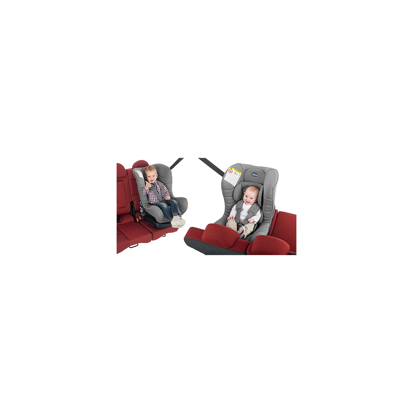 Автокресло Eletta Comfort, 0-18 кг., CHICCO, silver
