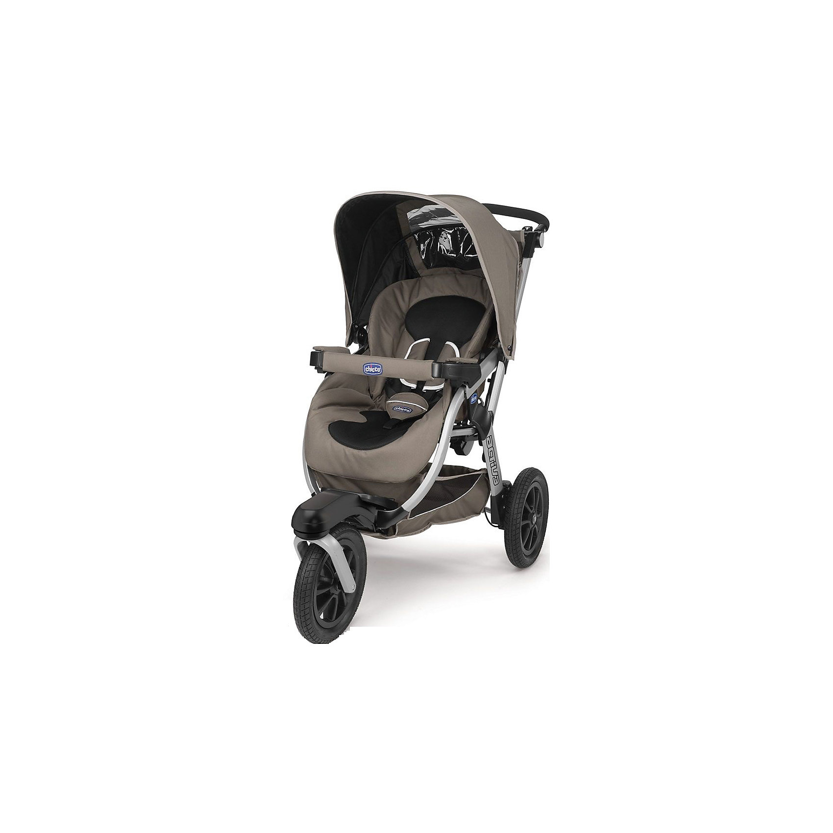 CHICCO Прогулочная коляска Activ3 3-W, CHICCO, бежевый прогулочная коляска chicco activ3 grey