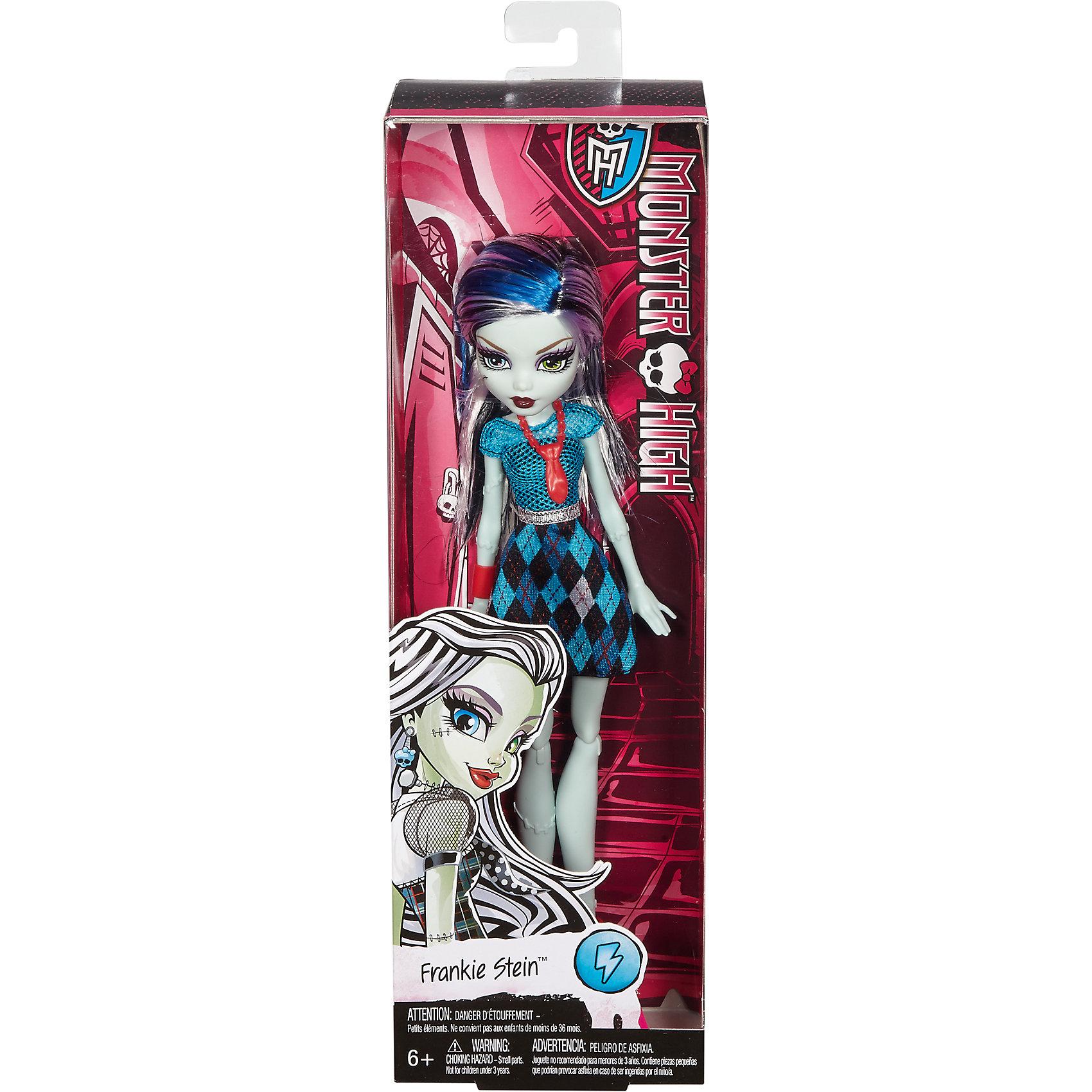 Mattel Базовая кукла Фрэнки Штейн Monster High mattel кукла фрэнки штейн в модном наряде monster high