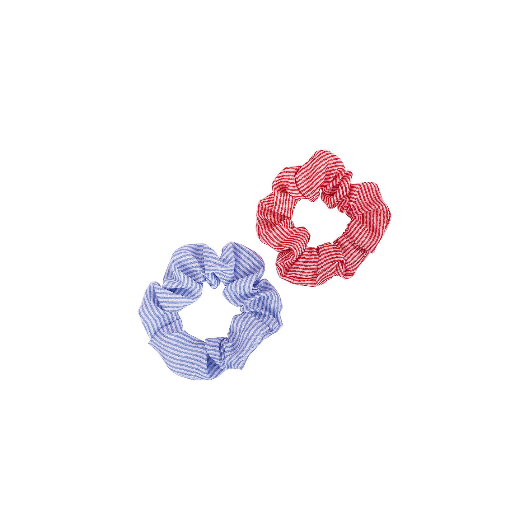 Button Blue Резинка для волос, 2 шт. Button Blue baby s joy резинка для волос бантик однотонный цвет розовый 2 шт