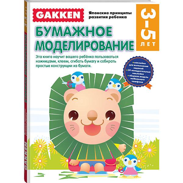 Gakken. 3+ Бумажное моделированиеРаскраски по номерам<br>Книга 3+ БУМАЖНОЕ МОДЕЛИРОВАНИЕ из серии Gakken. Японские принципы развития ребенка научит вашего ребенка:<br>•безопасно и правильно пользоваться ножницами;<br>•пользоваться клеем, наносить его на определенные участки;<br>•сгибать бумагу в разных направлениях;<br>•конструировать простые поделки из бумаги: аппликации, мозаику, кольца, коробочки.<br>А ещё малыша ожидают весёлые развивающие игры со сделанными своими руками бумажными моделями!<br><br>Рабочие тетради GAKKEN - это разработка, созданная на основе работ профессора Акиры Таго - известного в Японии специалиста по развитию интеллектуальных способностей. Вот уже 30 лет по этим тетрадям занимаются миллионы японских малышей. Сегодня мы предлагаем эти тетради для вашего малыша!<br>Занимаясь по рабочим тетрадям «GAKKEN Японские принципы развития ребенка» вы через некоторое время сами убедитесь в том, что  без нервотрепки и утомительных скучных занятий  ваш ребенок может:<br>•самостоятельно находить решения довольно сложных задач, в том числе пространственных;<br>•логически рассуждать и принимать решения;<br>•не просто считать, но и понимать математическую логику счета и решения задач;<br>•правильно держать карандаш и фломастер и проводить разные линии;<br>•управляться с ножницами и клеем;<br>•делать по образцу и даже придумывать сам аппликации и другие поделки из бумаги.<br><br>Дополнительная информация:<br><br>- год выпуска: 2015<br>- количество страниц:64<br>- формат: 29 *21 см.<br>- переплет: мягкий переплет<br>- вес: 278 гр.<br>- возраст: от  3  до 5  лет<br><br>Gakken. 3+ Бумажное моделирование можно купить в нашем интернет - магазине.<br><br>Ширина мм: 290<br>Глубина мм: 210<br>Высота мм: 5<br>Вес г: 280<br>Возраст от месяцев: 36<br>Возраст до месяцев: 72<br>Пол: Унисекс<br>Возраст: Детский<br>SKU: 4753540