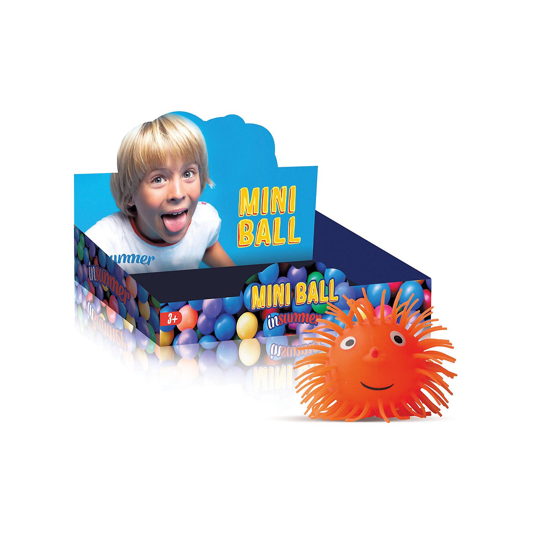 Мячик Е-Ежик Коротышка 12,5 см со светом, InSummerМячи детские<br>Е-Ежик Коротышка - веселый мячик со световыми эффектами, изготовленный из мягких, безопасных для ребенка материалов. Милый ежик с мягкими колючками, глазками, носиком и улыбкой начинает светиться, если его подбросить или встряхнуть. На голове у ежика удобная резинка с петелькой, чтобы игрушка не потерялась. Веселый ежик обязательно понравится малышу!<br><br>Дополнительная информация:<br>Размер: 12,5 см<br>Вес: 100 грамм<br>Мячик Е-Ежик Коротышка вы можете купить в нашем интернет-магазине.<br><br>Ширина мм: 35<br>Глубина мм: 800<br>Высота мм: 320<br>Вес г: 100<br>Возраст от месяцев: 36<br>Возраст до месяцев: 144<br>Пол: Унисекс<br>Возраст: Детский<br>SKU: 4753587