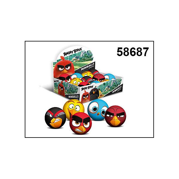 Мини-мячи Angry Birds, Angry BirdsМячи детские<br><br>Ширина мм: 65; Глубина мм: 1800; Высота мм: 240; Вес г: 200; Возраст от месяцев: 36; Возраст до месяцев: 192; Пол: Унисекс; Возраст: Детский; SKU: 4753588;