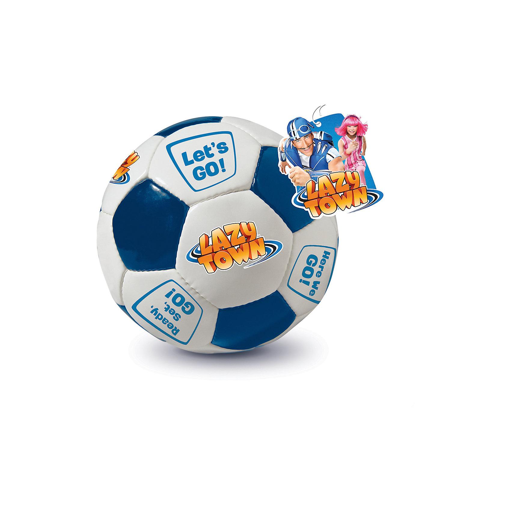 Футбольный мяч Lazy Town Here We GO!, ЛетоФутбольный мяч Lazy Town Here We GO! вдохновит ребенка на новые активные игры. Мяч изготовлен из качественных материалов, обеспечивающих высокую прочность. Мяч от героев телепередачи Лентяево имеет приятную расцветку и мотивирующие надписи. Играть с таким мячом - одно удовольствие!<br><br>Дополнительная информация:<br>Вес: 400 грамм<br>Футбольный мяч Lazy Town Here We GO! вы можете купить в нашем интернет-магазине.<br><br>Ширина мм: 500<br>Глубина мм: 500<br>Высота мм: 500<br>Вес г: 400<br>Возраст от месяцев: 36<br>Возраст до месяцев: 192<br>Пол: Мужской<br>Возраст: Детский<br>SKU: 4753593