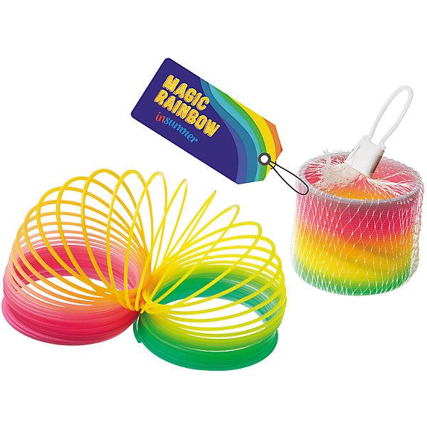 Радужная пружинка 7,5 см, InSummerИгры в дорогу<br>Радужная пружинка  - прекрасный вариант для детских развлечений. Яркая пружинка прыгает и даже превращается в радугу, которую можно поставить на стол.<br><br>Дополнительная информация:<br>Материал: пластик<br>Вес: 50 грамм<br>Высота: 7,5 см<br>Радужную пружинку можно приобрести в нашем интернет-магазине.<br><br>Ширина мм: 240<br>Глубина мм: 750<br>Высота мм: 340<br>Вес г: 50<br>Возраст от месяцев: 36<br>Возраст до месяцев: 192<br>Пол: Унисекс<br>Возраст: Детский<br>SKU: 4753598