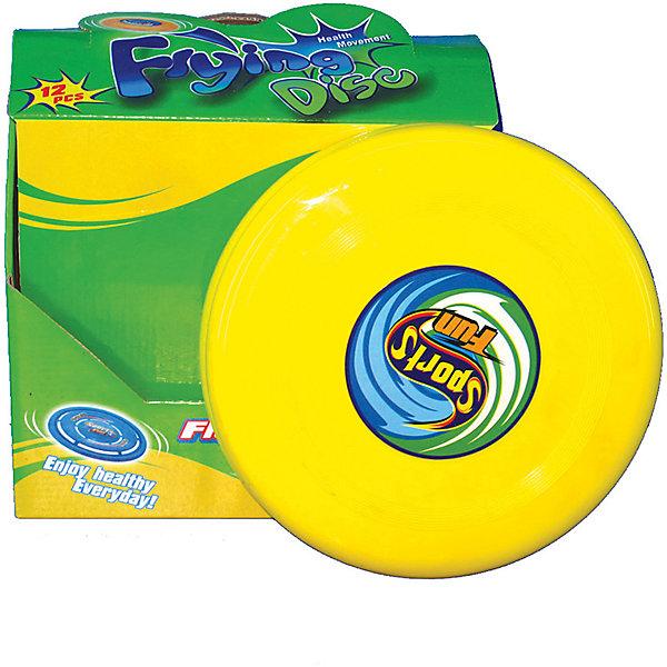 Летающая тарелка 22см, InSummerЛетающие тарелки и бумеранги<br>Летающая тарелка изготовлена из прочного пластика. Она очень удобна в использовании и имеет яркую расцветку. Игры с этой тарелкой принесут ребенку море удовольствия!<br><br>Дополнительная информация:<br>Размер упаковки: 9,5х23,5х24 см<br>Вес: 50 грамм<br>Диаметр: 22 см<br>Летающую тарелку можно купить в нашем интернет-магазине.<br>Ширина мм: 240; Глубина мм: 2350; Высота мм: 95; Вес г: 50; Возраст от месяцев: 36; Возраст до месяцев: 192; Пол: Унисекс; Возраст: Детский; SKU: 4753600;