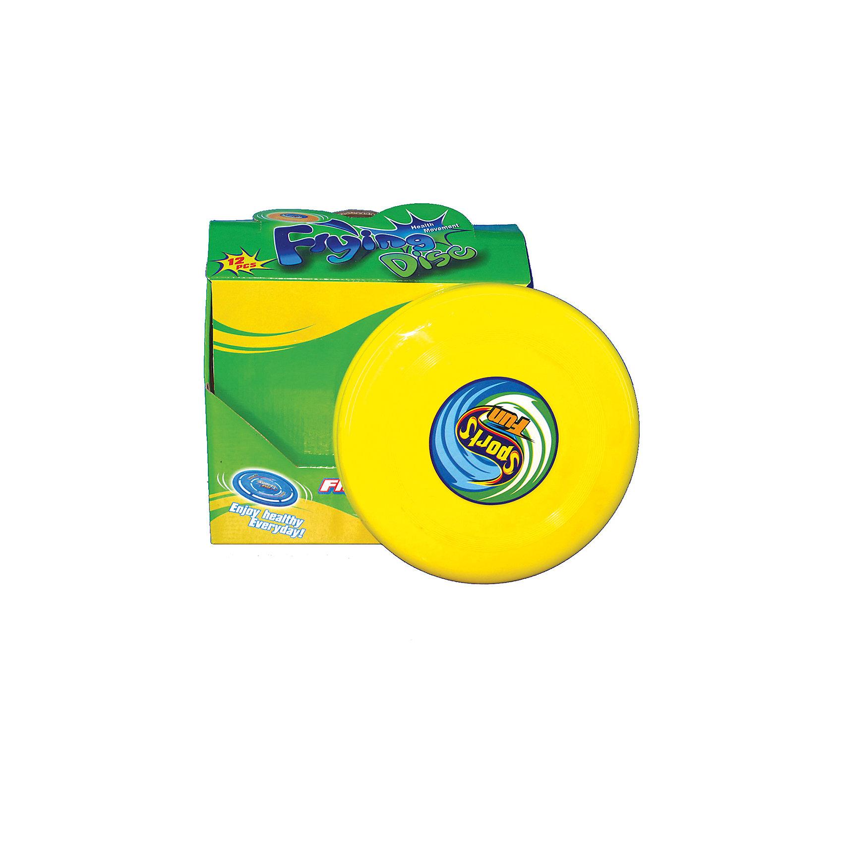 Летающая тарелка 22см, InSummerЛетающая тарелка изготовлена из прочного пластика. Она очень удобна в использовании и имеет яркую расцветку. Игры с этой тарелкой принесут ребенку море удовольствия!<br><br>Дополнительная информация:<br>Размер упаковки: 9,5х23,5х24 см<br>Вес: 50 грамм<br>Диаметр: 22 см<br>Летающую тарелку можно купить в нашем интернет-магазине.<br><br>Ширина мм: 240<br>Глубина мм: 2350<br>Высота мм: 95<br>Вес г: 50<br>Возраст от месяцев: 36<br>Возраст до месяцев: 192<br>Пол: Унисекс<br>Возраст: Детский<br>SKU: 4753600