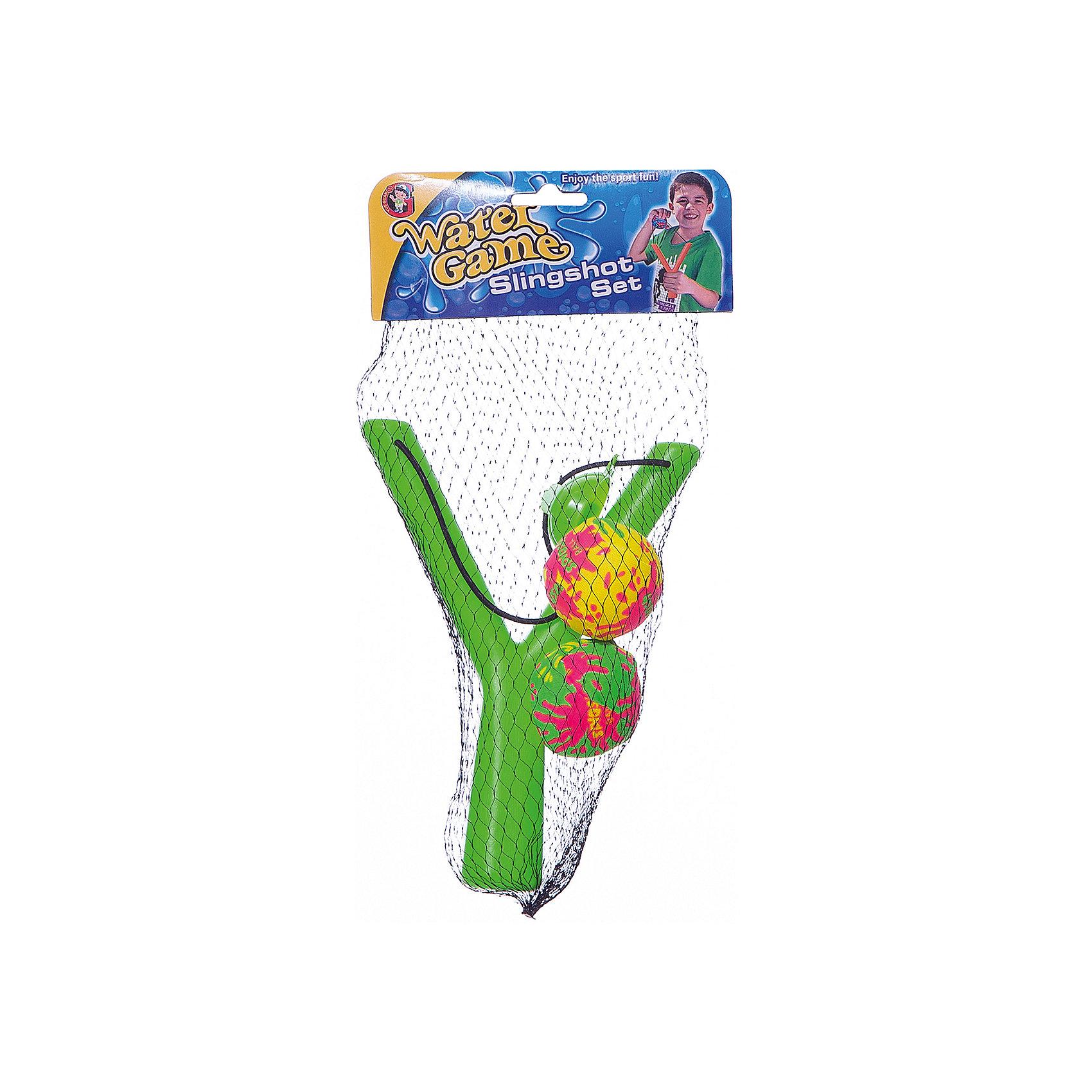 Рогатка Классическая с 2мя водяными бомбочками, InSummerКлассическая рогатка понравится не только детям, но у взрослым. В комплекте есть две водяные бомбочки, стрелять которыми будет очень удобно. Яркая рогатка поднимет настроение и сделает игру очень веселой и интересной!<br><br>Дополнительная информация:<br>В комплекте: рогатка, 2 водяные бомбочки<br>Размер упаковки: 2,6х15,5х5 см<br>Вес: 100 грамм<br>Рогатку Классическую с водяными бомбочками вы можете купить в нашем интернет-магазине.<br><br>Ширина мм: 50<br>Глубина мм: 1550<br>Высота мм: 260<br>Вес г: 100<br>Возраст от месяцев: 36<br>Возраст до месяцев: 144<br>Пол: Мужской<br>Возраст: Детский<br>SKU: 4753606