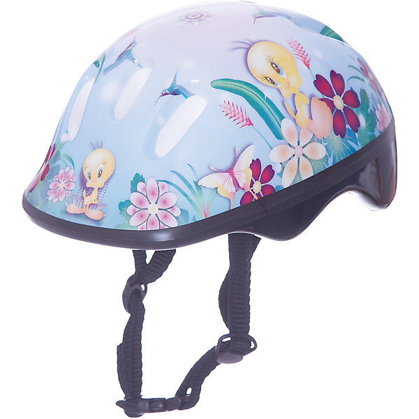 Шлем ТВИТТИ разм.S, ЛетоЗащита, шлемы<br>Шлем ТВИТТИ предназначен для девочек, любящих прогулки на велосипеде или роликовых коньках. Модель изготовлена из прочного ударостойкого пластика и плотно прилегает к голове. Верх шлема украшен яркой картинкой с цветами, бабочками и птичкой Твитти. Этот шлем несомненно вызовет восторг у любительницы активного отдыха!<br><br>Дополнительная информация:<br>Размер: S<br>Материал: пластик<br>Размер упаковки: 25х19х13 см<br>Вес: 318 грамм<br>Вы можете купить шлем ТВИТТИ в нашем интернет-магазине.<br>Ширина мм: 500; Глубина мм: 500; Высота мм: 500; Вес г: 318; Возраст от месяцев: 36; Возраст до месяцев: 192; Пол: Унисекс; Возраст: Детский; SKU: 4753613;
