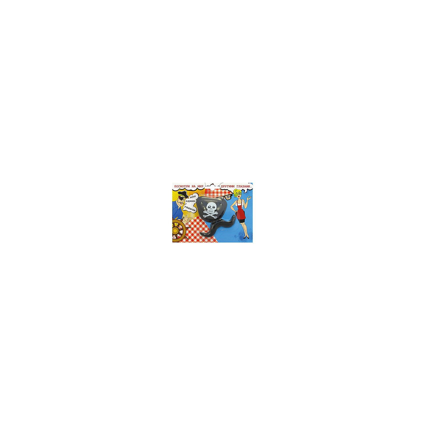 Пиратский набор: повязка +усы, Просто Хорошие Игрушки