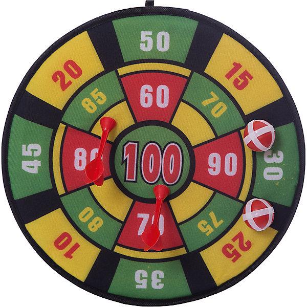 Дартс Снайпер, InSummerИгровые наборы<br>В комплекте игровое поле, два пластиковых дротика на липучках (безопасные для ребенка) и два мячика с липучками, которые можно использовать как альтернативный вариант для метания.<br>Ширина мм: 360; Глубина мм: 300; Высота мм: 360; Вес г: 350; Возраст от месяцев: 36; Возраст до месяцев: 192; Пол: Унисекс; Возраст: Детский; SKU: 4753617;