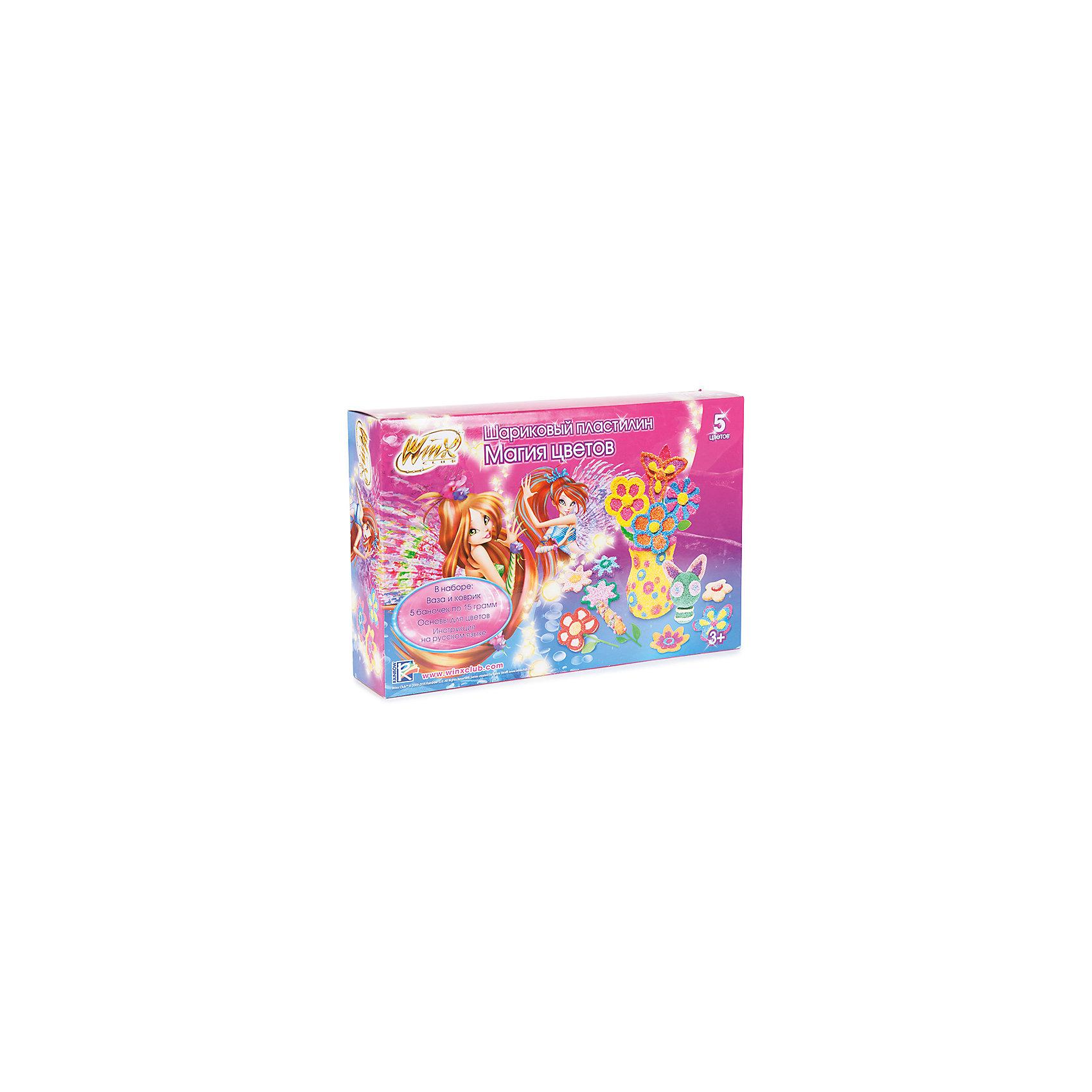 Altacto Шариковый пластилин Winx Магия цветов altacto набор для лепки winx волшебное кафе