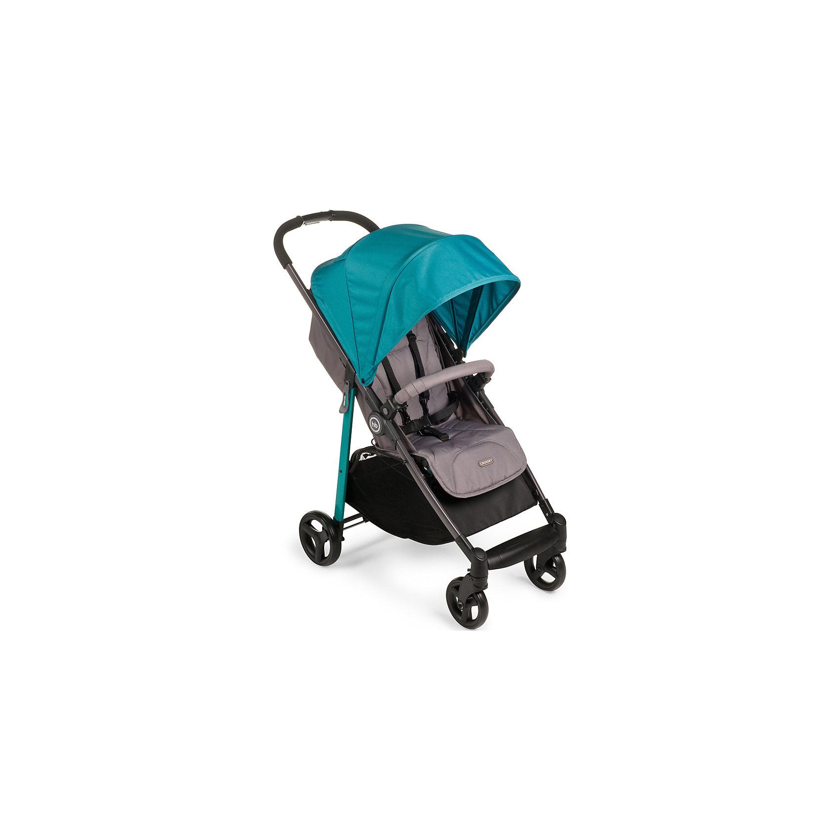 Прогулочная коляска Happy Baby, Crossby, аквамаринПрогулочные коляски<br>Прогулочная коляска Happy Baby, Crossby аквамарин – эта легкая прогулочная коляска подарит удовольствие от использования и малышу, и маме.<br>Прогулочная коляска Crossby создана в минималистичном стиле, при этом сочетая в себе максимально необходимое количество характеристик для комфортных прогулок и путешествий. Благодаря амортизации на передних и задних колесах, коляска способна передвигаться по любой дороге, включая не глубокий снег. Эта всесезонная коляска укомплектована чехлом на ножки, дождевиком и москитной сеткой. Имеет широкое сиденье с возможностью плавной регулировки угла наклона спинки (количество положений не ограничено), пятиточечные ремни безопасности, большой капюшон со смотровым окошком, регулируемую в трех положениях подножку, съемный бампер, вместительную корзину для покупок. Обивка коляски выполнена из современных высокотехнологичных тканей, что создает дополнительный комфорт для ребенка и мамы.<br><br>Дополнительная информация:<br><br>- В комплекте: дождевик, чехол на ножки, москитная сетка<br>- Возраст: от 7 месяцев<br>- Максимальный вес ребенка: 20 кг.<br>- Тип складывания: книжка<br>- Цвет: аквамарин<br>- Ширина сиденья: 34 см.<br>- Глубина сиденья: 23 см.<br>- Длина спального места: 78 см.<br>- Вес коляски: 7,7 кг.<br>- Размер в сложенном виде: 84х50,5х29 см.<br>- Размер в разложенном виде: 96х50,5х104 см.<br>- Ширина колесной базы: 50,5 см.<br>- Колеса: пластиковые с покрытием EVA (этиленвинилацетат)<br>- Диаметр колес: передние — 15 см, задние —  18 см.<br>- Колёсная база: передние колеса поворотные с возможностью фиксации<br>- Амортизация передних и задних колес<br>- Тормозная педаль на оси задних колес<br><br>Прогулочную коляску Crossby, Happy Baby, аквамарин можно купить в нашем интернет-магазине.<br><br>Ширина мм: 210<br>Глубина мм: 445<br>Высота мм: 835<br>Вес г: 10050<br>Цвет: аквамарин<br>Возраст от месяцев: 7<br>Возраст до месяцев: 36<br>Пол: Унисекс<br>Возрас