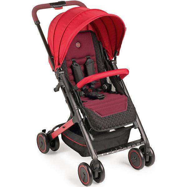 Прогулочная коляска Happy Baby Jetta, вишневыйПрогулочные коляски<br>Прогулочная коляска Jetta, Happy Baby, вишневый – это легкая, компактная и простая в использовании прогулочная коляска нового поколения!<br>Прогулочная коляска Jetta покорит вас своим стильным видом и отличными ходовыми данными. Плавный ход коляски обеспечивают двойные колеса, при этом передние поворачиваются на 360° и могут фиксироваться. Передние и задние колеса оснащены амортизацией, что позволяет преодолевать ступеньки с комфортом для ребенка. Коляска Jetta легко складывается одной рукой, имеет съемный бампер, регулируемую с помощью ремня спинку (количество положений не ограничено), регулируемую в трех положениях подножку, пятиточечные ремни безопасности с мягкими накладками, капюшон для защиты от солнца, а также вместительную корзину для покупок. Регулируемая по высоте ручка (3 положения) позволит маме любого роста удобно управлять коляской, не ощущая нагрузки на спину.<br><br>Дополнительная информация:<br><br>- В комплекте: дождевик, чехол на ножки, москитная сетка<br>- Возраст: от 7 месяцев<br>- Максимальный вес ребенка: 15 кг.<br>- Тип складывания: книжка<br>- Цвет: вишневый<br>- Ширина сиденья: 31 см.<br>- Глубина сиденья: 22 см.<br>- Длина спального места: 78 см.<br>- Вес коляски: 5,9 кг.<br>- Размер в сложенном виде: 74х51х28 см.<br>- Размер в разложенном виде: 87х51х102 см.<br>- Рама: металл, пластик<br>- Тканные материалы: 100 % полиэстер<br>- Колеса: пластиковые с покрытием PP (полипропилен)<br>- Колёсная база: 4 сдвоенных колеса, передние поворотные колеса с возможностью фиксации<br>- Ширина колесной базы: 51 см.<br>- Диаметр колес: 15 см.<br>- Удобная тормозная педаль на заднем колесе<br>- Амортизация на передних и задних колесах<br><br>Прогулочную коляску Jetta, Happy Baby, вишневую можно купить в нашем интернет-магазине.<br><br>Ширина мм: 255<br>Глубина мм: 520<br>Высота мм: 625<br>Вес г: 8130<br>Цвет: красный<br>Возраст от месяцев: 7<br>Возраст до месяцев: 36<br>Пол: Унисекс<br>В