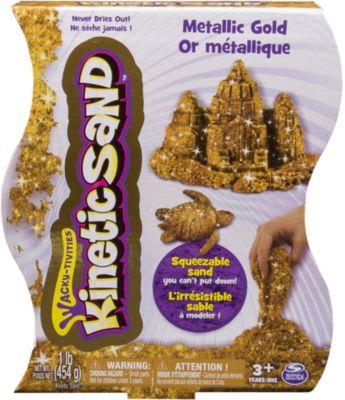 Песок для лепки Kinetic Sand, металлик, 455гр, в ассортименте фото-1