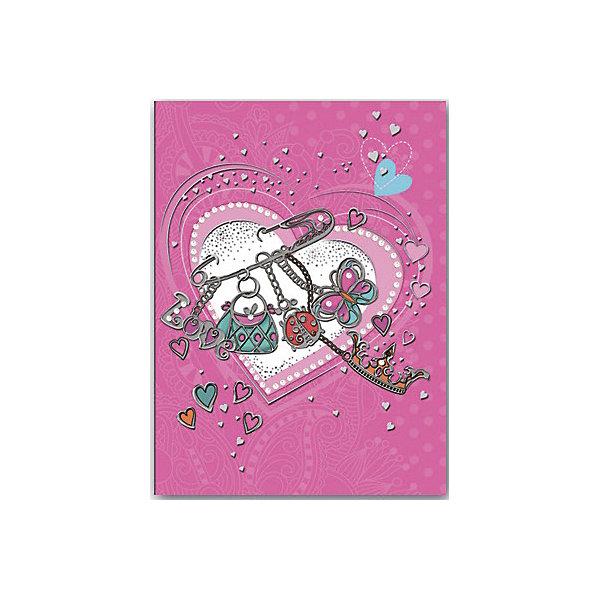 Записная книжка Настроение А6, 160 листовБумажная продукция<br>Красивая записная книжка, украшенная оригинальным рисунком, стразами и серебряной фольгой обязательно понравится девочке и станет желанным подарком на любой праздник. Плотные страницы идеально подойдут для рисунков и записей, а прочная красивая обложка надежно сохранит все девичьи секреты!  <br>Небольшой формат позволяет брать записную книжку куда угодно - она запросто поместится в любой сумочке и всегда будет под рукой! <br><br>Дополнительная информация:<br><br>- Обложка: твердая, 7БЦ с печатью по металлизированной бумаге, тиснение серебряной фольгой. <br>- Количество страниц: 160.<br>- Формат А6 (15 х 11 см.).<br><br>Записную книжку Настроение, А6, можно купить в нашем магазине.<br><br>Ширина мм: 110<br>Глубина мм: 145<br>Высота мм: 10<br>Вес г: 130<br>Возраст от месяцев: 48<br>Возраст до месяцев: 2147483647<br>Пол: Унисекс<br>Возраст: Детский<br>SKU: 4756026