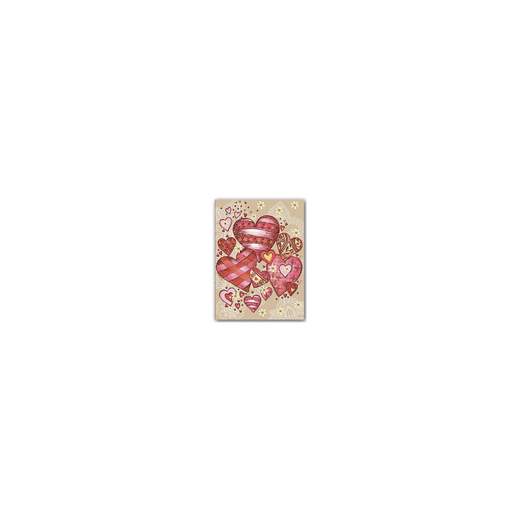 Записная книжка Сердечки А6, 160 листовБумажная продукция<br>Красивая записная книжка, украшенная оригинальным рисунком, стразами и фольгой обязательно понравится девочке и станет желанным подарком на любой праздник. Плотные страницы идеально подойдут для рисунков и записей, а прочная красивая обложка надежно сохранит все девичьи секреты!  <br>Небольшой формат позволяет брать записную книжку куда угодно - она запросто поместится в любой сумочке и всегда будет под рукой! <br><br>Дополнительная информация:<br><br>- Обложка: твердая, 7БЦ с печатью по металлизированной бумаге, тиснение серебряной фольгой. <br>- Количество страниц: 160.<br>- Формат А6 (15 х 11 см.).<br><br>Записную книжку Сердечки, А6, можно купить в нашем магазине.<br><br>Ширина мм: 110<br>Глубина мм: 145<br>Высота мм: 10<br>Вес г: 130<br>Возраст от месяцев: 48<br>Возраст до месяцев: 2147483647<br>Пол: Женский<br>Возраст: Детский<br>SKU: 4756027