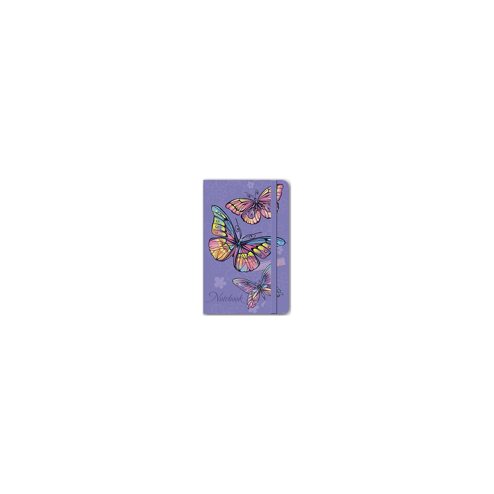 Феникс+ Записная книжка Радужные бабочки