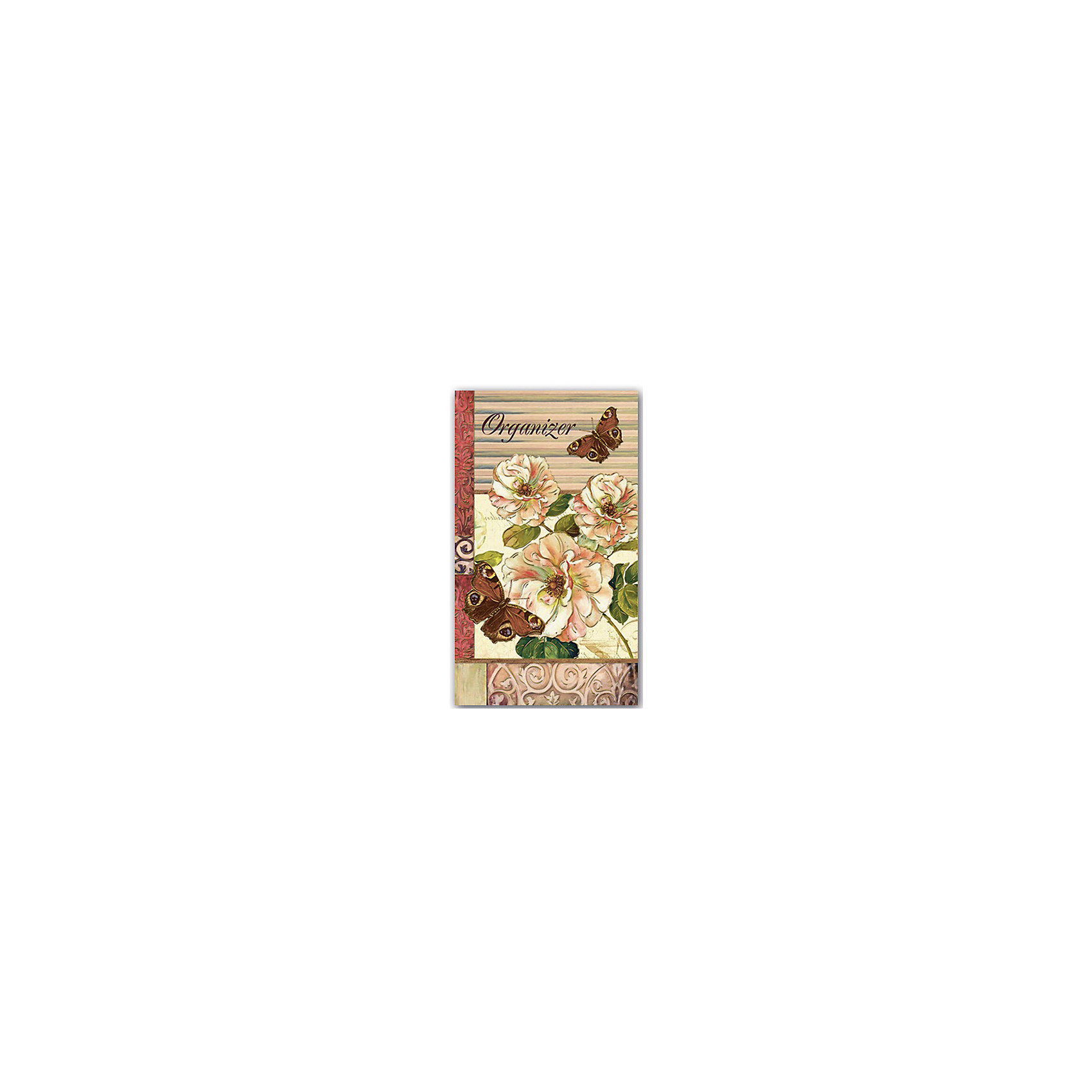 Феникс+ Органайзер трехблочный Бабочки блокнот власта артбук бабочки 7 5 х 10 см 150 листов