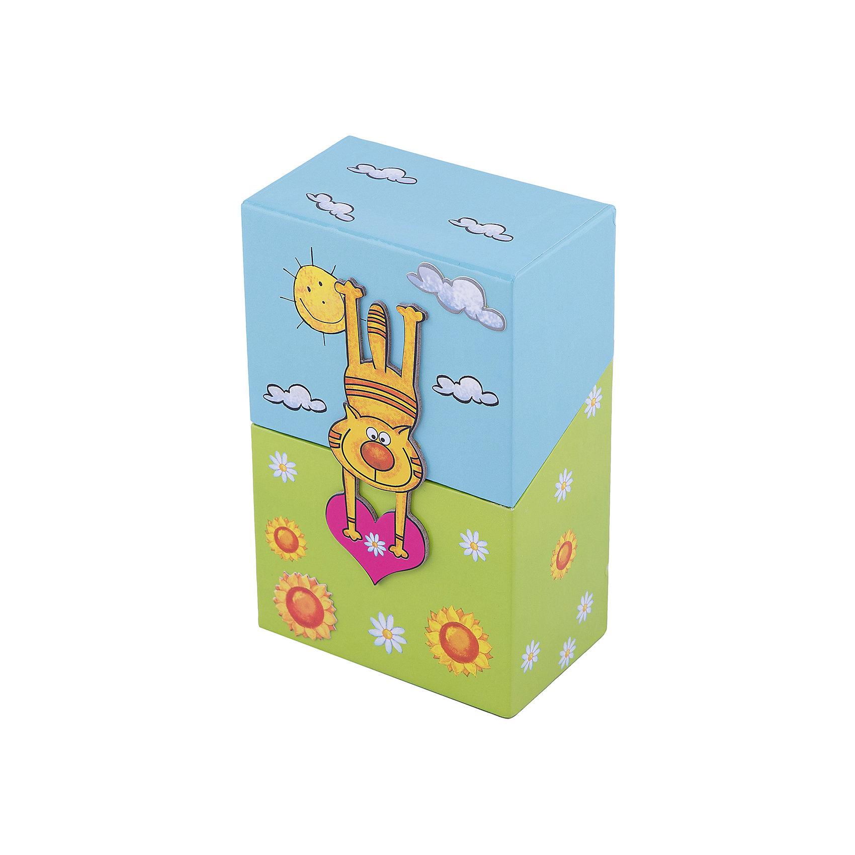 Феникс+ Подарочный канцелярский набор Котик (2 записные книжки, стикер,3 книжные закладки) записные книжки блока