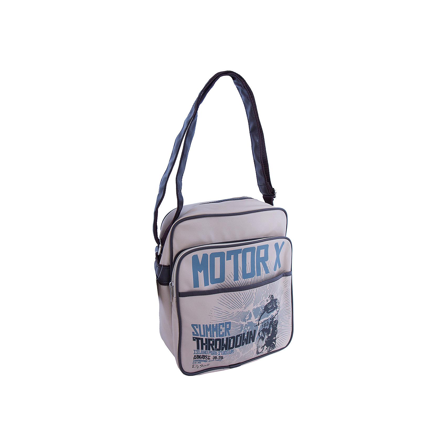 Сумка подростковая МотодрайвСтильная сумка с запоминающимся дизайном придется по вкусу любому подростку. Модель оснащена уплотнённым плечевым ремнем, регулируемым по длине, удобными и практичными карманами, выполнена из высококачественного прочного материала.  <br><br>Дополнительная информация:<br><br>- Материал: полиуретан.<br>- Размер: 28х33х11 см.<br>- Тип застежки: молния. <br>- Плечевой ремень регулируется.<br>- 2 отделения (большое и маленькое).<br>- Карманы: 1 внутренний, 1 внешний.<br>- Полноцветная печать.<br><br>Сумку подростковую Мотодрайв можно купить в нашем магазине.<br><br>Ширина мм: 330<br>Глубина мм: 300<br>Высота мм: 50<br>Вес г: 400<br>Возраст от месяцев: 144<br>Возраст до месяцев: 192<br>Пол: Мужской<br>Возраст: Детский<br>SKU: 4756069