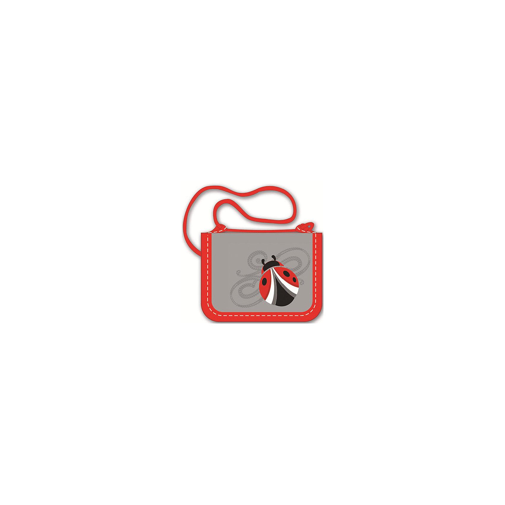 Кошелек на шнуркеКошелек на шнурке идеально подходит для хранения мелких предметов, ключей и карманных денег. Его удобно брать с собой в поездки и путешествия, с этим оригинальным кошельком ваш ребенок всегда будет знать, что все самое ценное всегда с ним. <br>Кошелек выполнен из высококачественных прочных материалов, декорирован аппликацией в виде божьей коровки и вышивкой, имеет привлекательный дизайн, застегивается на липучку. <br><br>Дополнительная информация:<br><br>- Материал: нейлон.<br>- Размер: 12,5х10 см.<br>- Тип застежки: липучка. <br>- 4 отделения.<br>- Металлическое кольцо для ключей.<br>- Декорирован резиновой аппликацией и вышивкой. <br><br>Кошелек на шнурке можно купить в нашем магазине.<br><br>Ширина мм: 125<br>Глубина мм: 100<br>Высота мм: 15<br>Вес г: 60<br>Возраст от месяцев: 48<br>Возраст до месяцев: 120<br>Пол: Женский<br>Возраст: Детский<br>SKU: 4756072