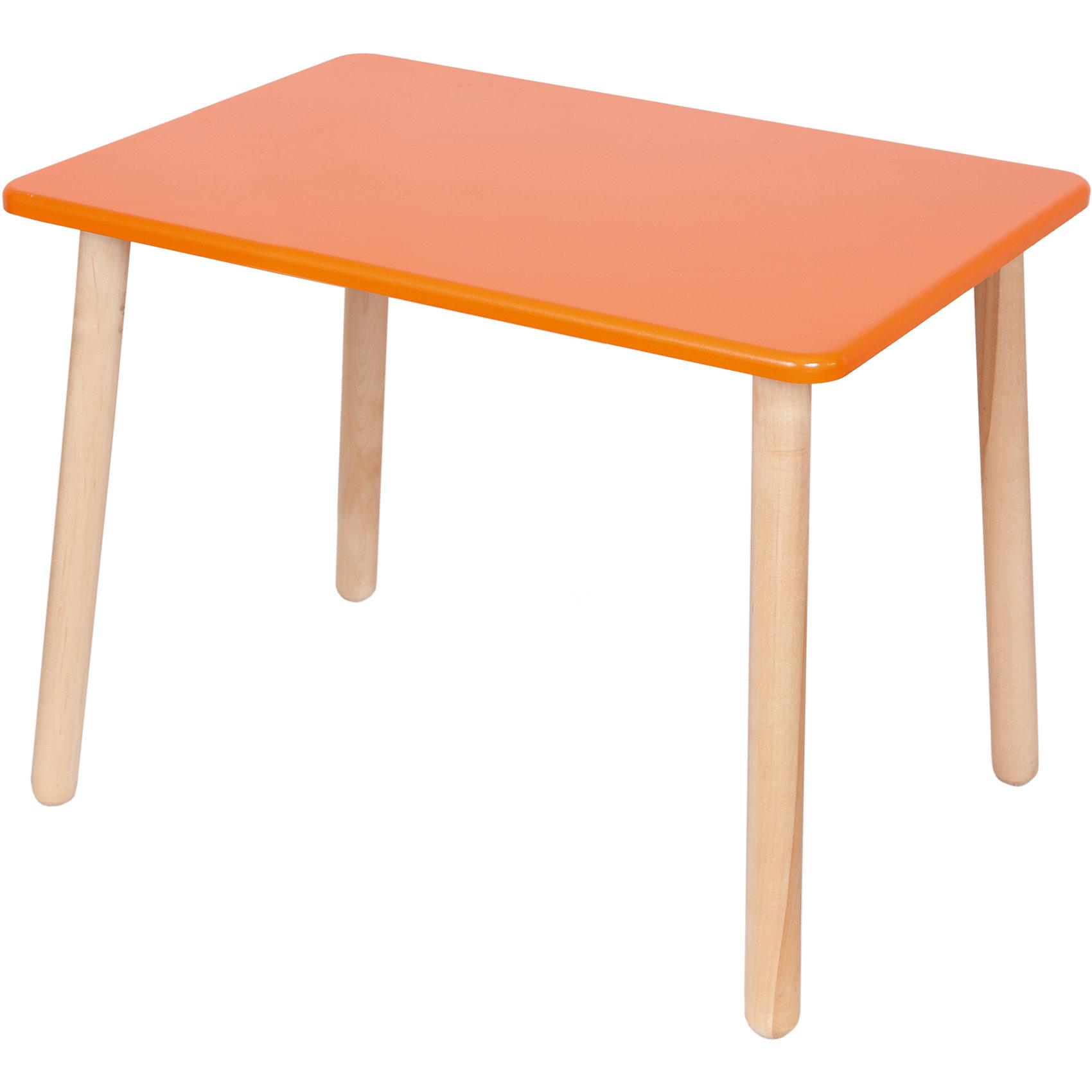 Оранжевый столСтол от из известного производителя детской мебели, Русэкомебель - это сочетание практичности, удобства и красоты. Стол прямоугольной формы прекрасно подойдет для игр и занятий творчеством. Гладкая поверхность столешницы позволяет легко устранять любые загрязнения. Яркая расцветка обязательно понравится ребенку и прекрасно впишется в интерьер детской.<br>Стол выполнен из дерева, раскрашен безопасными для детей экологичными красителями. <br><br>Дополнительная информация:<br><br>- Материал: дерево (береза).<br>- Не имеет острых углов. <br>- Размер столешницы: 70х50 см.<br>- Высота стола: 52 см. <br><br>Cтол детский, оранжевый, можно купить в нашем магазине.<br><br>Ширина мм: 730<br>Глубина мм: 530<br>Высота мм: 50<br>Вес г: 6000<br>Возраст от месяцев: 24<br>Возраст до месяцев: 84<br>Пол: Унисекс<br>Возраст: Детский<br>SKU: 4756483