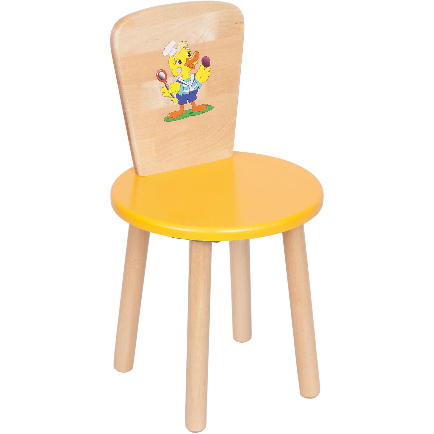 РусЭкоМебель Желтый стул