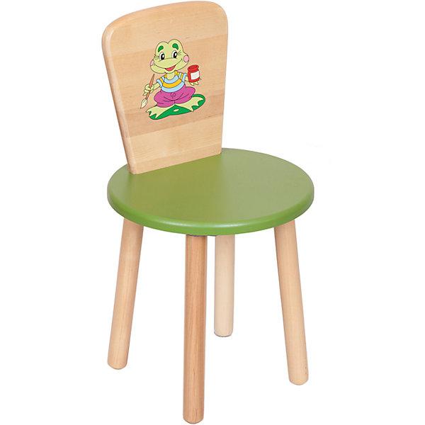 Зеленый стулДетские столы и стулья<br>Стул от из известного производителя детской мебели, Русэкомебель - это сочетание практичности, удобства и красоты. Гладкая поверхность позволяет легко устранять любые загрязнения. Стул не имеет острых углов, которые могут травмировать малышей. Яркая расцветка обязательно понравится ребенку и прекрасно впишется в интерьер детской.<br>Стул выполнен из высококачественных материалов, раскрашен безопасными для детей экологичными красителями. <br><br>Дополнительная информация:<br><br>- Материал: дерево, МДФ.<br>- Не имеет острых углов. <br>- Высота: 57 см<br>- Диаметр сиденья: 31 см<br>- Высота сиденья (от пола): 32 см<br><br>Стул детский круглый, зеленый, можно купить в нашем магазине.<br>Ширина мм: 400; Глубина мм: 400; Высота мм: 90; Вес г: 2400; Возраст от месяцев: 24; Возраст до месяцев: 84; Пол: Унисекс; Возраст: Детский; SKU: 4756488;