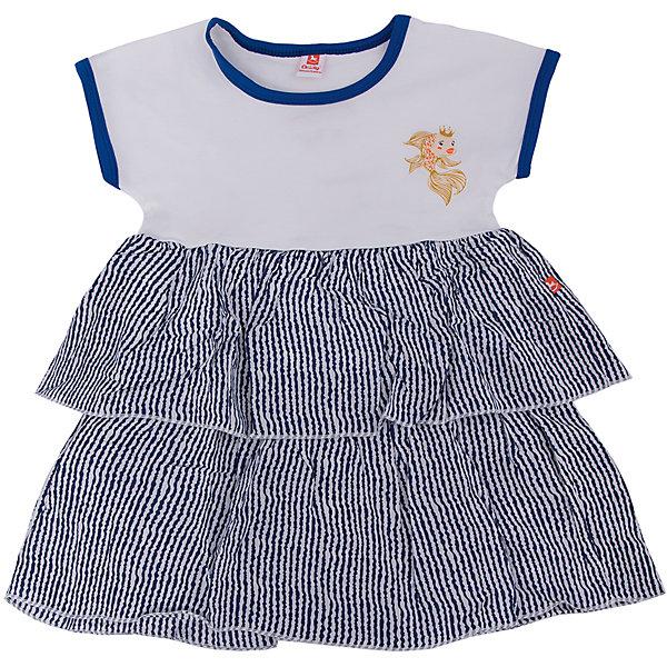 Платье  для девочки GoldyПлатья и сарафаны<br>Платье  для девочки от известного бренда Goldy<br>Состав:<br>супрем (96%хлопок, 4%лайкра)<br><br>Ширина мм: 236<br>Глубина мм: 16<br>Высота мм: 184<br>Вес г: 177<br>Цвет: белый<br>Возраст от месяцев: 24<br>Возраст до месяцев: 36<br>Пол: Женский<br>Возраст: Детский<br>Размер: 98,104,92,122,116,110<br>SKU: 4757659