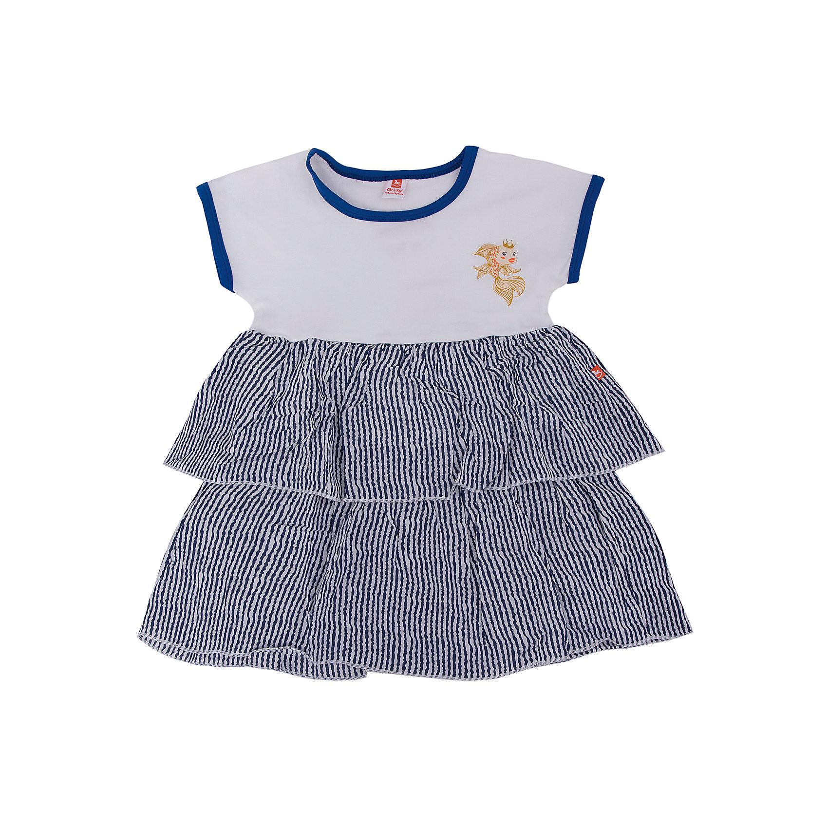 Платье  для девочки GoldyПлатья и сарафаны<br>Платье  для девочки от известного бренда Goldy<br>Состав:<br>супрем (96%хлопок, 4%лайкра)<br><br>Ширина мм: 236<br>Глубина мм: 16<br>Высота мм: 184<br>Вес г: 177<br>Цвет: разноцветный<br>Возраст от месяцев: 24<br>Возраст до месяцев: 36<br>Пол: Женский<br>Возраст: Детский<br>Размер: 98,104,110,116,122,92<br>SKU: 4757659