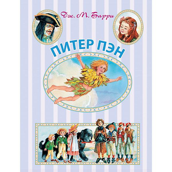 Питер Пэн, Д. БарриБарри Дж. М.<br>Джеймс Мэтью Барри - шотландский писатель и драматург, знаком взрослым и детям всего мира как автор удивительной книги о Питере Пэне – мальчике, который не хотел взрослеть и всегда оставался юным. Питер живёт в волшебной стране Нетинебудет вместе с такими же, как он, мальчишками, феями, русалками, тикающим крокодилом и самыми настоящими пиратами! А ещё он умеет летать! И вот однажды он влетает в окно к девочке по имени Венди и её братьям…<br><br>Дополнительная информация:<br><br>- Автор: Барри Джеймс Мэтью.<br>- Художник: Власова Анна Юльевна.<br>- Формат: 26,3x20 см.<br>- Переплет: твердый. <br>- Количество страниц: 222<br>- Иллюстрации: цветные.<br><br>Книгу Питер Пэн, Д. Барри, можно купить в нашем магазине.<br><br>Внимание! В соответствии с Постановлением Правительства Российской Федерации от 19.01.1998 № 55, непродовольственные товары надлежащего качества нижеследующих категорий не подлежат возврату и обмену: непериодические издания (книги, брошюры, альбомы, картографические и нотные издания, листовые изоиздания, календари, буклеты, открытки, издания, воспроизведенные на технических носителях информации).<br><br>Ширина мм: 255<br>Глубина мм: 195<br>Высота мм: 16<br>Вес г: 740<br>Возраст от месяцев: 84<br>Возраст до месяцев: 2147483647<br>Пол: Унисекс<br>Возраст: Детский<br>SKU: 4760111
