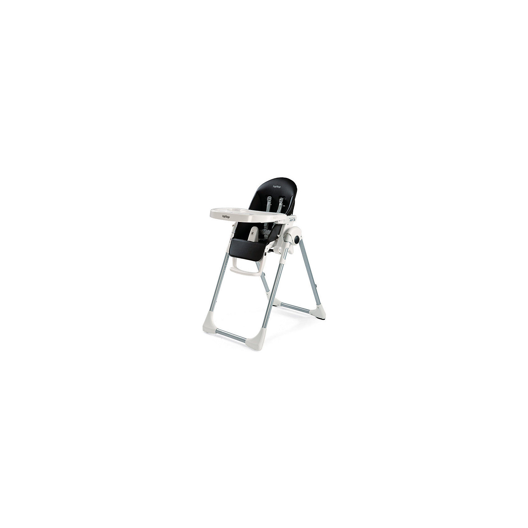 Стульчик для кормления Prima Pappa Zero3, Peg-Perego, Licorice черныйот рождения<br>Удобный и функциональный стульчик Prima Pappa Zero3, Peg-Perego, обеспечит комфорт и безопасность Вашего малыша во время кормления. Спинка сиденья легко регулируется в 5 положениях (вплоть до горизонтального), что позволяет использовать стульчик как для кормления так<br>и для игр и сна. Широкое и эргономичное мягкое сиденье будет удобно как малышу, так и ребенку постарше. Стульчик оснащен регулируемыми 5-точечными ремнями безопасности, а планка-разделитель для ножек под столиком не даст малышу соскользнуть. Высота стула<br>регулируется в 7 положениях, выбрав самое низкое положение и убрав столик, Вы легко трансформируете стул для кормления в низкий безопасный детский стульчик, куда ребенок может садиться сам. Подножка регулируется в 3 позициях, позволяя выбрать оптимальное для ребенка<br>положение. <br><br>Широкий съемный столик оснащен подносом с отделениями для кружки или стакана, поднос можно снять для быстрой чистки и использовать основную поверхность для игр и занятий. Для детей постарше стул можно использовать без столика для кормления, придвинув его к столу<br>для взрослых. Задние ножки оснащены колесиками с блокираторами, что позволяет легко перемещать стульчик по комнате. Кожаный чехол легко снимаются для чистки. Стульчик легко и компактно складывается и занимает мало места при хранении. Подходит для детей в возрасте от<br>0 месяцев до 3 лет.<br><br>Дополнительная информация:<br><br>- Цвет: черный.<br>- Материал: пластик, эко-кожа.<br>- Размер в разложенном состоянии: 55 х 76 х 105 см. <br>- Размер в сложенном состоянии: 58 х 28,5 х 103,5 cм. <br>- Вес: 7,6 кг.<br><br>Стульчик для кормления Prima Pappa Zero3, Peg-Perego, Licorice черный, можно купить в нашем интернет-магазине.<br><br>Ширина мм: 565<br>Глубина мм: 300<br>Высота мм: 935<br>Вес г: 9000<br>Возраст от месяцев: 0<br>Возраст до месяцев: 36<br>Пол: Унисекс<br>Возраст: Детский<br>SKU: 4761340