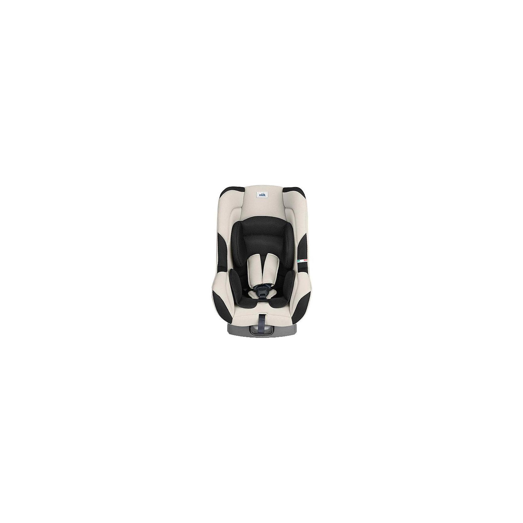 Автокресло CAM Auto Gara, 0-18 кг, бежевый/черныйГруппа 0+, 1 (До 18 кг)<br>Автокресло Auto Gara (Авто Гара), CAM (КАМ) - комфортная надежная модель, которая сделает поездку Вашего ребенка приятной и безопасной. Эргономичное сиденье кресла обеспечивает комфорт и правильное положение позвоночника во время длительных поездок. Для<br>новорожденных предусмотрена съемная мягкая анатомическая вставка. Наклон спинки можно регулировать в 5 положениях, включая положение для сна. Кресло оснащено 5-точечными ремнями безопасности с центральной регулировкой и мягкими плечевыми накладками. Усиленная<br>боковая защита и корпус из прочного пластика уберегут ребёнка от серьезных травм. <br><br>Автокресло легко и надежно фиксируется при помощи штатных ремней безопасности. Для малышей от 0 до 9 месяцев автокресло устанавливается на заднем сиденье лицом против движения авто, для малышей после 9 месяцев кресло устанавливается лицом по ходу движения<br>автомобиля. Кресло изготовлено из высококачественных материалов, съемные тканевые чехлы можно стирать при температуре 30 градусов. Рассчитано на детей от 0 до 3-4 лет, весом 0-18 кг. Кресло имеет европейский сертификат безопасности ЕСЕ R44/03.<br><br><br>Дополнительная информация:<br><br>- Цвет: бежевый/черный.<br>- Группа: 0/1 (от 0 до 18 кг.).<br>- Материал: текстиль, пластик.<br>- Размеры: 43 х 60 х 61 см.<br>- Вес: 6,5 кг.<br><br>Автокресло Auto Gara, 0-18 кг., CAM, бежевый/черный, можно купить в нашем интернет-магазине.<br><br>Ширина мм: 603<br>Глубина мм: 417<br>Высота мм: 880<br>Вес г: 6580<br>Возраст от месяцев: 0<br>Возраст до месяцев: 48<br>Пол: Унисекс<br>Возраст: Детский<br>SKU: 4761358