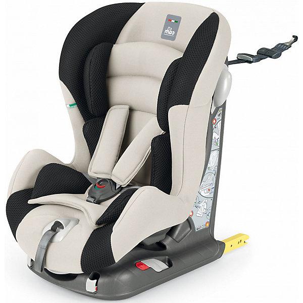 Автокресло CAM Viaggiosicuro Isofix, 9-18кг, беж/черныйГруппа 1 (от 9 до 18 кг)<br>Автокресло Viaggiosicuro Isofix, CAM - комфортная надежная модель, которая сделает поездку Вашего ребенка приятной и безопасной. Сиденье кресла с анатомическим подголовником обеспечивает комфорт во время длительных поездок. Наклон спинки можно регулировать в 5<br>положениях, что позволяет выбрать наиболее удобное для ребенка. Кресло оснащено регулируемыми 5-точечными ремнями безопасности с мягкими плечевыми накладками и ремешком между ножек. Усиленная боковая защита убережёт ребёнка от серьезных травм. <br><br>Автокресло устанавливается лицом вперед, по ходу движения автомобиля с помощью штатных ремней безопасности или с помощью универсальных креплений Isofix (желтые соединительные элементы в задней части кресла) и фиксатора Top tether (расположен в верхней части<br>автокресла). Имеются индикаторы правильной установки кресла. Обивка кресла изготовлена из высококачественных материалов, тканевые гипоаллергенные чехлы снимаются для чистки или стирки при t 30°C. Автокресло имеет стандарт безопасности ECE R 44/04. Рассчитано на детей<br>от 9 мес. до 4 лет, весом 9-18 кг.<br><br><br>Дополнительная информация:<br><br>- Цвет: беж/черный. <br>- Материал: текстиль, пластик, металл.<br>- Возраст: 9 мес. - 4 года (9-18 кг.)<br>- Размер: 44 х 53 х 64 см. <br>- Вес: 10,4 кг.<br><br>Автокресло Viaggiosicuro Isofix, 9-18 кг., CAM, беж/черный, можно купить в нашем интернет-магазине.<br>Ширина мм: 385; Глубина мм: 345; Высота мм: 415; Вес г: 11760; Возраст от месяцев: 9; Возраст до месяцев: 36; Пол: Унисекс; Возраст: Детский; SKU: 4761360;