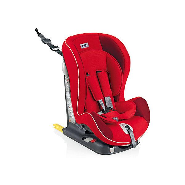 Автокресло CAM Viaggiosicuro Isofix, 9-18кг, красныйГруппа 1 (от 9 до 18 кг)<br>Автокресло Viaggiosicuro Isofix, CAM - комфортная надежная модель, которая сделает поездку Вашего ребенка приятной и безопасной. Сиденье кресла с анатомическим подголовником обеспечивает комфорт во время длительных поездок. Наклон спинки можно регулировать в 5<br>положениях, что позволяет выбрать наиболее удобное для ребенка. Кресло оснащено регулируемыми 5-точечными ремнями безопасности с мягкими плечевыми накладками и ремешком между ножек. Усиленная боковая защита убережёт ребёнка от серьезных травм. <br><br>Автокресло устанавливается лицом вперед, по ходу движения автомобиля с помощью штатных ремней безопасности или с помощью универсальных креплений Isofix (желтые соединительные элементы в задней части кресла) и фиксатора Top tether (расположен в верхней части<br>автокресла). Имеются индикаторы правильной установки кресла. Обивка кресла изготовлена из высококачественных материалов, тканевые гипоаллергенные чехлы снимаются для чистки или стирки при t 30°C. Автокресло имеет стандарт безопасности ECE R 44/04. Рассчитано на детей<br>от 9 мес. до 4 лет, весом 9-18 кг.<br><br><br>Дополнительная информация:<br><br>- Цвет: красный. <br>- Материал: текстиль, пластик, металл.<br>- Возраст: 9 мес. - 4 года (9-18 кг.)<br>- Размер: 44 х 53 х 64 см. <br>- Вес: 10,4 кг.<br><br>Автокресло Viaggiosicuro Isofix, 9-18 кг., CAM, красный, можно купить в нашем интернет-магазине.<br>Ширина мм: 385; Глубина мм: 345; Высота мм: 415; Вес г: 11760; Возраст от месяцев: 9; Возраст до месяцев: 36; Пол: Унисекс; Возраст: Детский; SKU: 4761361;