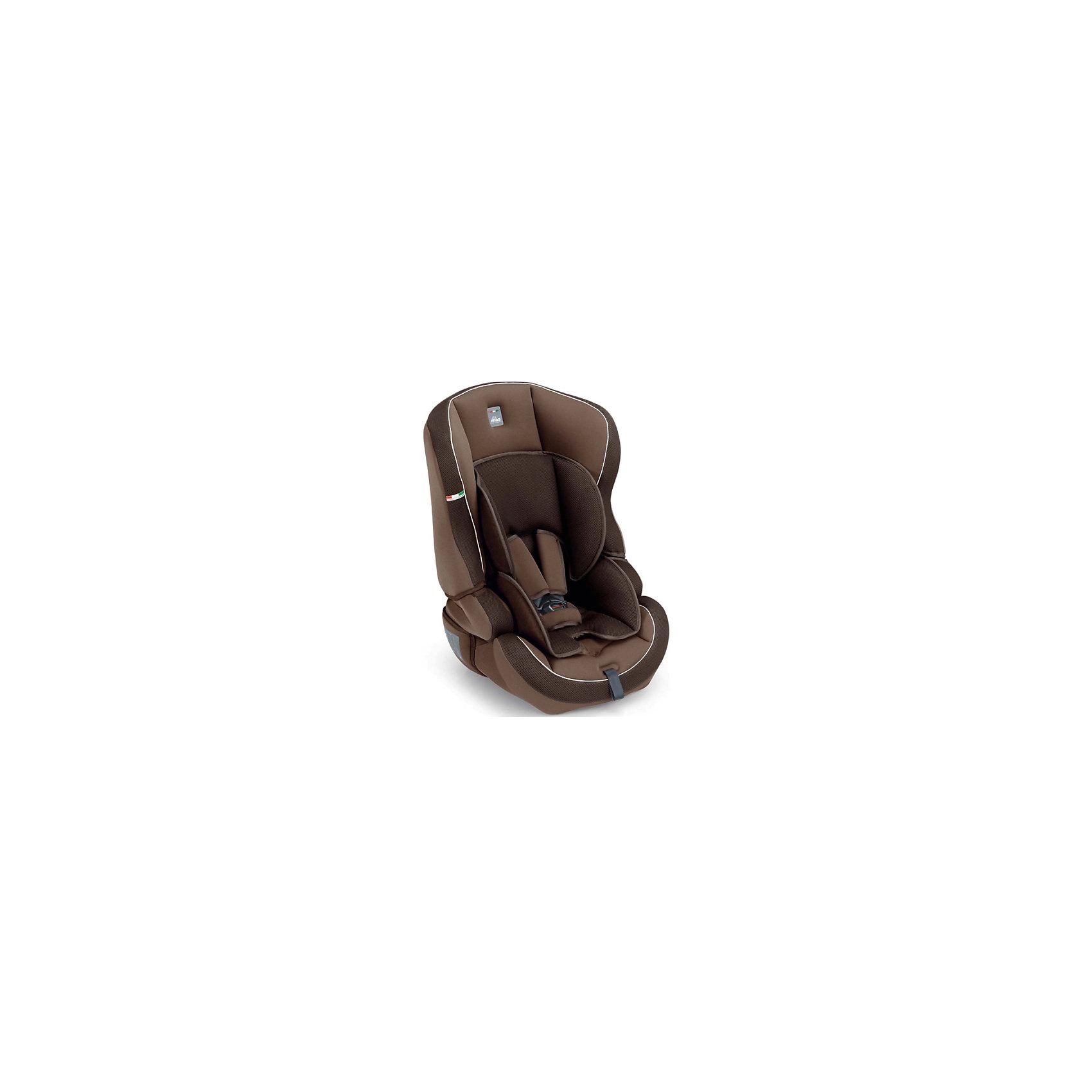 CAM Автокресло Travel Evolution, 9-36кг., CAM, шоколад коляска 3 в 1 cam cortina x3 tris evolution цвет 638