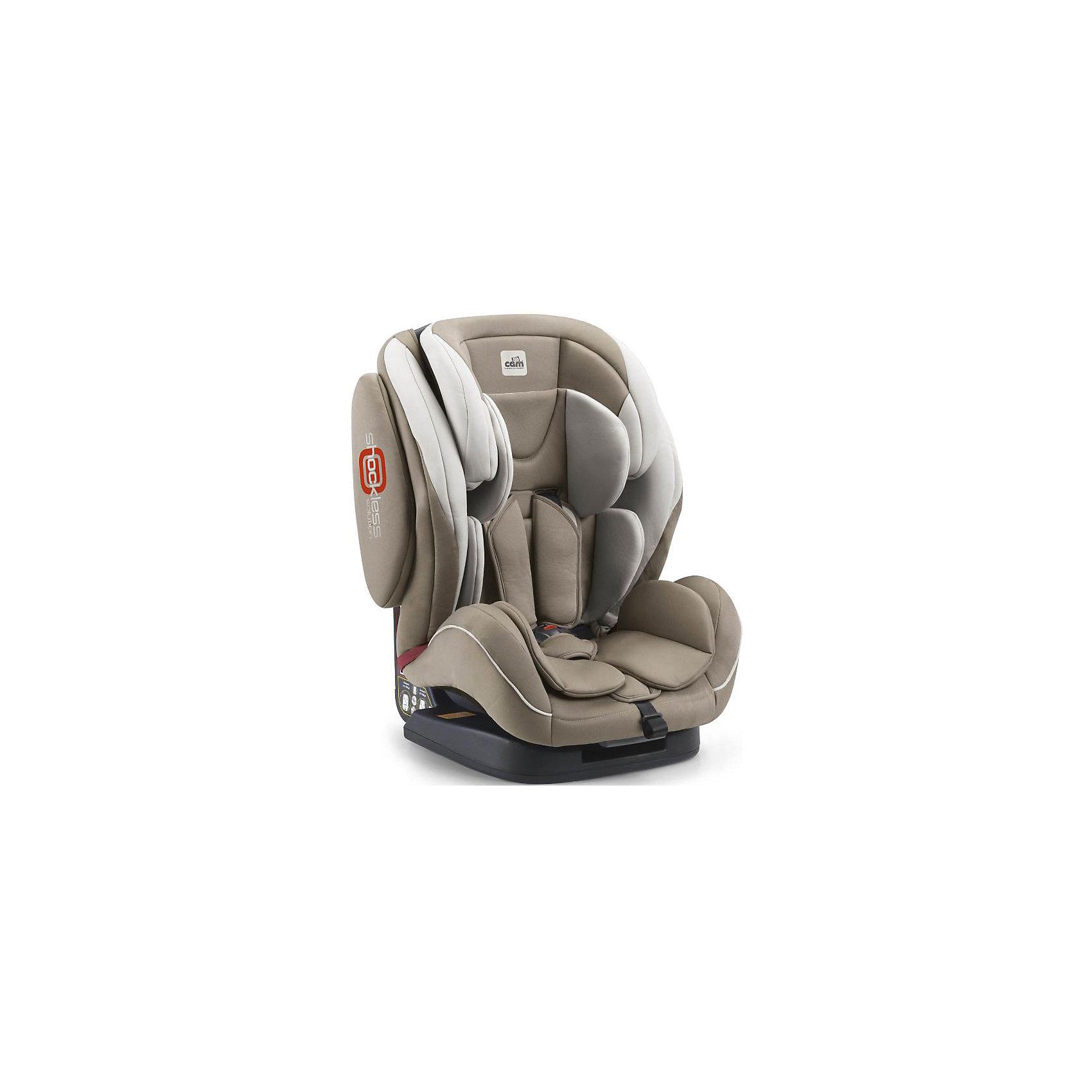 Автокресло Regolo с Isofix, 9-36 кг., CAM, кремАвтокресло Regolo с Isofix, CAM - комфортная надежная модель, которая сделает поездку Вашего ребенка приятной и безопасной. Благодаря особой конструкции автокресло может использоваться в течении длительного времени и охватывает весовые категории детей от 9 месяцев до<br>12 лет. Комфортное кресло оснащено эргономичной спинкой с регулируемым углом наклона (5 положений) и обеспечивает удобство сидения во время длительных поездок. Подголовник регулируется по высоте в зависимости от роста ребенка. Для малышей предусмотрен мягкий<br>анатомический вкладыш. Регулируемые 5-точечные ремни безопасности с мягкими плечевыми накладками надежно удерживают ребенка в кресле. Противоударный каркас и усиленная боковая защита уберегут ребёнка от серьезных травм.  <br><br>Автокресло устанавливается лицом вперед, по ходу движения автомобиля с помощью штатных ремней безопасности (имеется встроенная направляющая ремня) и системы Isofix. Для детей постарше (2-й группы, 15-36 кг.) ремни автокресла можно снять и использовать штатные ремни автомобиля, которые фиксируются специальными ограничителями. Кресло изготовлено из высококачественных материалов, износостойкие тканевые чехлы снимаются для чистки или стирки при температуре 30 градусов. Соответствует европейскому стандарту безопасности ECE R44/04. Рассчитано на детей от 9 месяцев до 12 лет, весом 9-36 кг.<br><br><br>Дополнительная информация: <br><br>- Цвет: крем.<br>- Вес ребенка: 9-36 кг. (9 мес.-12 лет).<br>- Группа 1-2-3.<br>- Материал: пластик, текстиль. <br>- Размеры кресла: 52 x 50 x 64 см. <br>- Вес: 10,9 кг.<br><br>Автокресло Regolo с Isofix, 9-36 кг., CAM, крем, можно купить в нашем интернет-магазине.<br><br>Ширина мм: 465<br>Глубина мм: 460<br>Высота мм: 815<br>Вес г: 12000<br>Возраст от месяцев: 6<br>Возраст до месяцев: 144<br>Пол: Унисекс<br>Возраст: Детский<br>SKU: 4761369