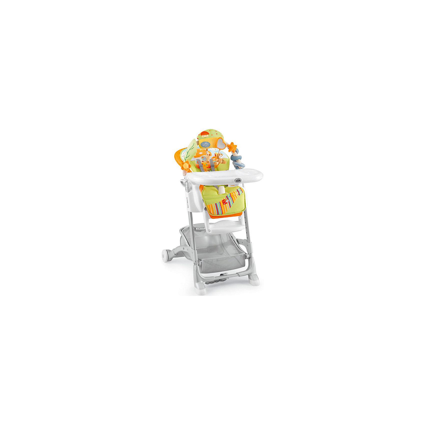 Стульчик для кормления Istante, CAM, оранжевый гриб