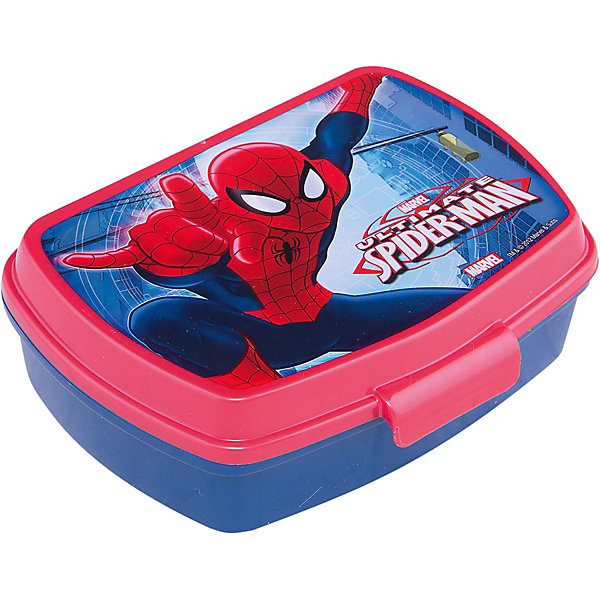 Бутербродница, Человек-паукЧеловек-Паук<br>Бутербродница Человек-паук изготовлена из прочного гипоаллергенного пластика абсолютно безопасного для детей. Пластиковая посуда удобна и практична, ее можно брать с собой куда угодно, не беспокоясь о том, что она может разбиться. Яркий дизайн и изображения любимых героев обязательно порадуют вашего ребенка. Бутербродница - идеальный вариант для хранения детских завтраков, она оснащена удобным замком, с которым сможет справиться даже маленький ребенок, а благодаря твердой конструкции пища не помнется и не раскрошится в рюкзаке или сумке. <br><br>Дополнительная информация:<br><br>- Материал: пластик.<br>- Размер: 17,5х14х6 см.<br>- Удобный замок.<br><br>Бутербродницу Человек-паук (Spider-Man) можно купить в нашем магазине.<br><br>Ширина мм: 190<br>Глубина мм: 141<br>Высота мм: 60<br>Вес г: 81<br>Возраст от месяцев: 36<br>Возраст до месяцев: 84<br>Пол: Мужской<br>Возраст: Детский<br>SKU: 4761400