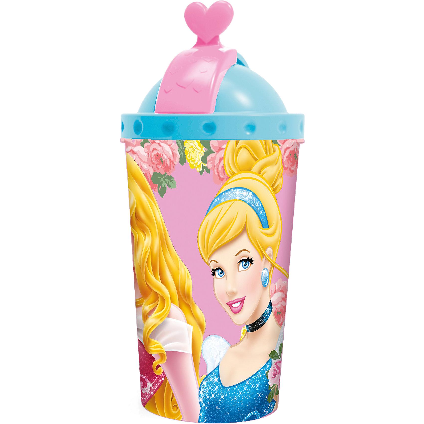 Фляга с крышкой и трубочкой, 450 мл, Принцессы ДиснейБутылки для воды и бутербродницы<br>Фляга с крышкой и трубочкой - удобный и практичный вариант для поездок, путешествий и активного отдыха. Фляга украшена ярким изображением любимиц всех девочек, Disney Princess, выполнена из высококачественного пищевого пластика. Гибкая пластиковая трубочка закрывается крышкой, что исключает протекание и загрязнение. Пластиковая посуда удобна и практична, ее можно брать с собой куда угодно, не беспокоясь о том, что она может разбиться и поранить ребенка. <br><br>Дополнительная информация:<br><br>- Материал: пластик.<br>- Объем: 450 мл.<br>- Удобная крышка. <br><br>Флягу с крышкой и трубочкой, 450 мл, Принцессы Дисней, можно купить в нашем магазине.<br><br>Ширина мм: 83<br>Глубина мм: 83<br>Высота мм: 185<br>Вес г: 960<br>Возраст от месяцев: 36<br>Возраст до месяцев: 144<br>Пол: Женский<br>Возраст: Детский<br>SKU: 4761402