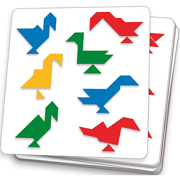 Танграм магнитный, DJECOГоловоломки - игры<br>Танграм магнитный. Интересный набор штампов, с помощью которых Ваш ребенок научится создавать фигуры – танграмы. Малышу придётся по вкусу эта игрушка. При этом Ваш ребенок может развивать мелкую моторику пальчиков, свою усидчевость и старание создать красивую картинку.<br>Ширина мм: 230; Глубина мм: 5; Высота мм: 160; Вес г: 210; Возраст от месяцев: 36; Возраст до месяцев: 1188; Пол: Унисекс; Возраст: Детский; SKU: 4761434;